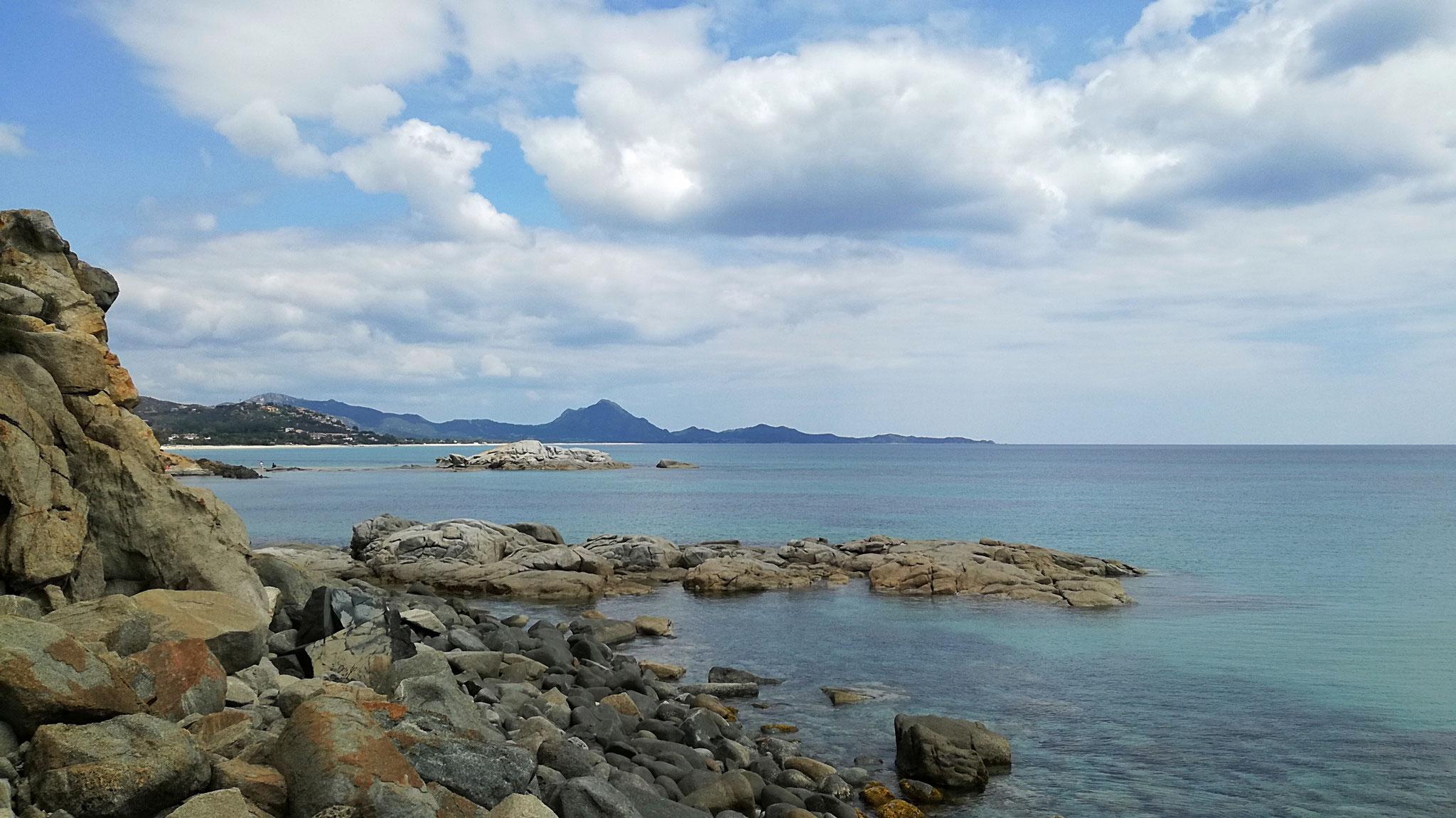 Aussichtspunkt auf die Costa Rei