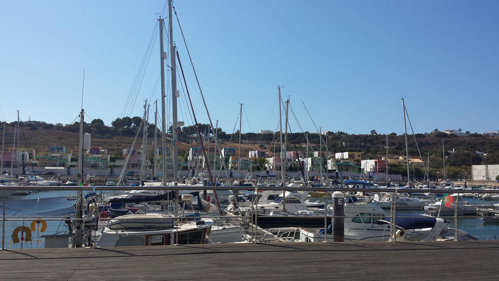Hafen von Albufeira