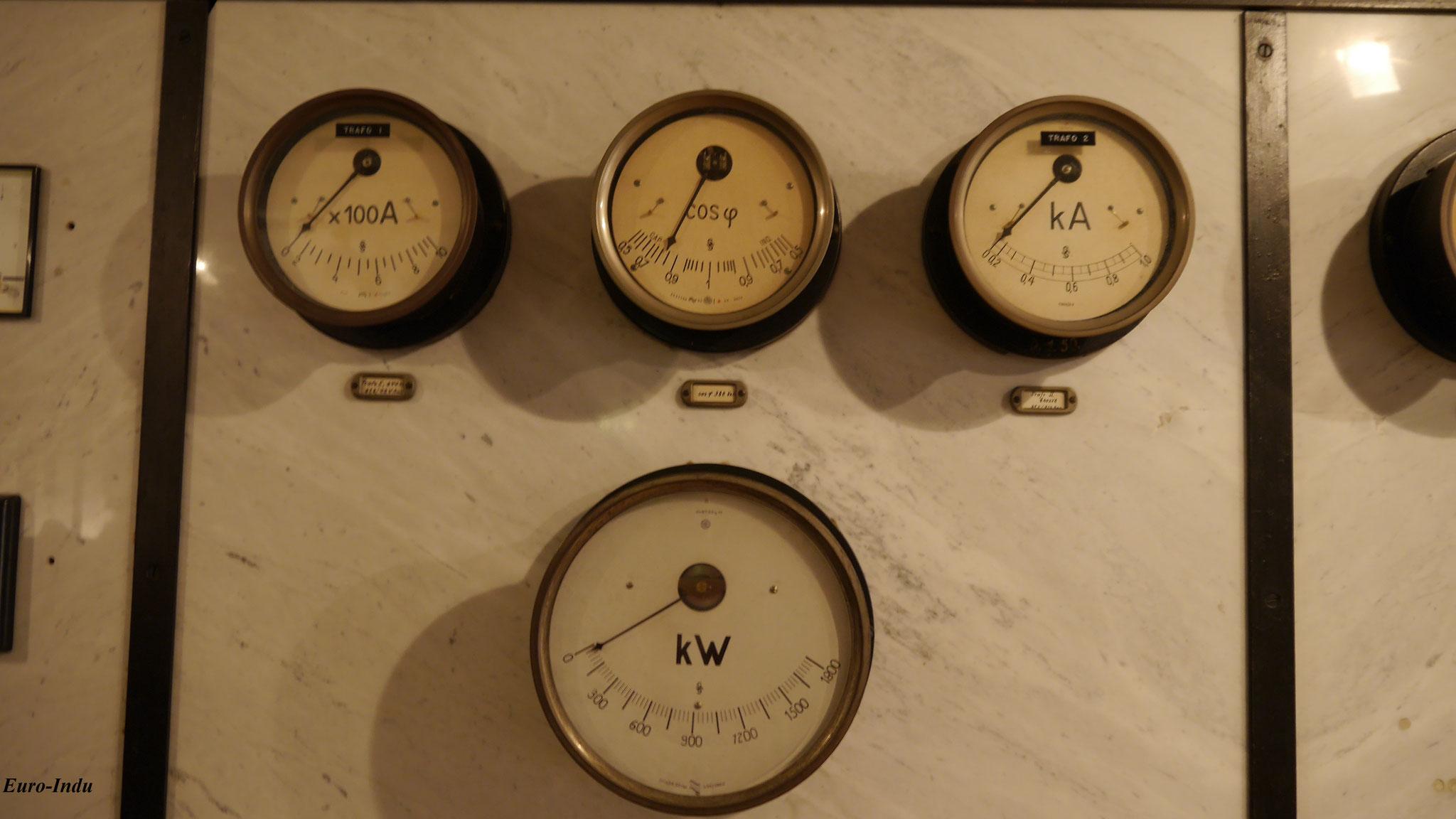 Im Untergeschoss der Lichtstation bzw des ehemaligen Unterwerks Süd