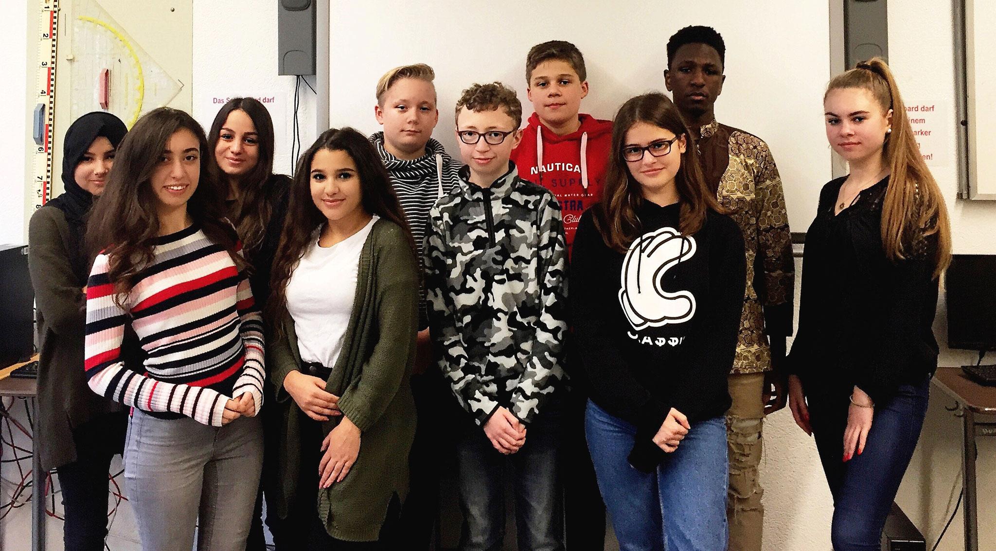 Jugendreporter der Realschule Heiligenhaus