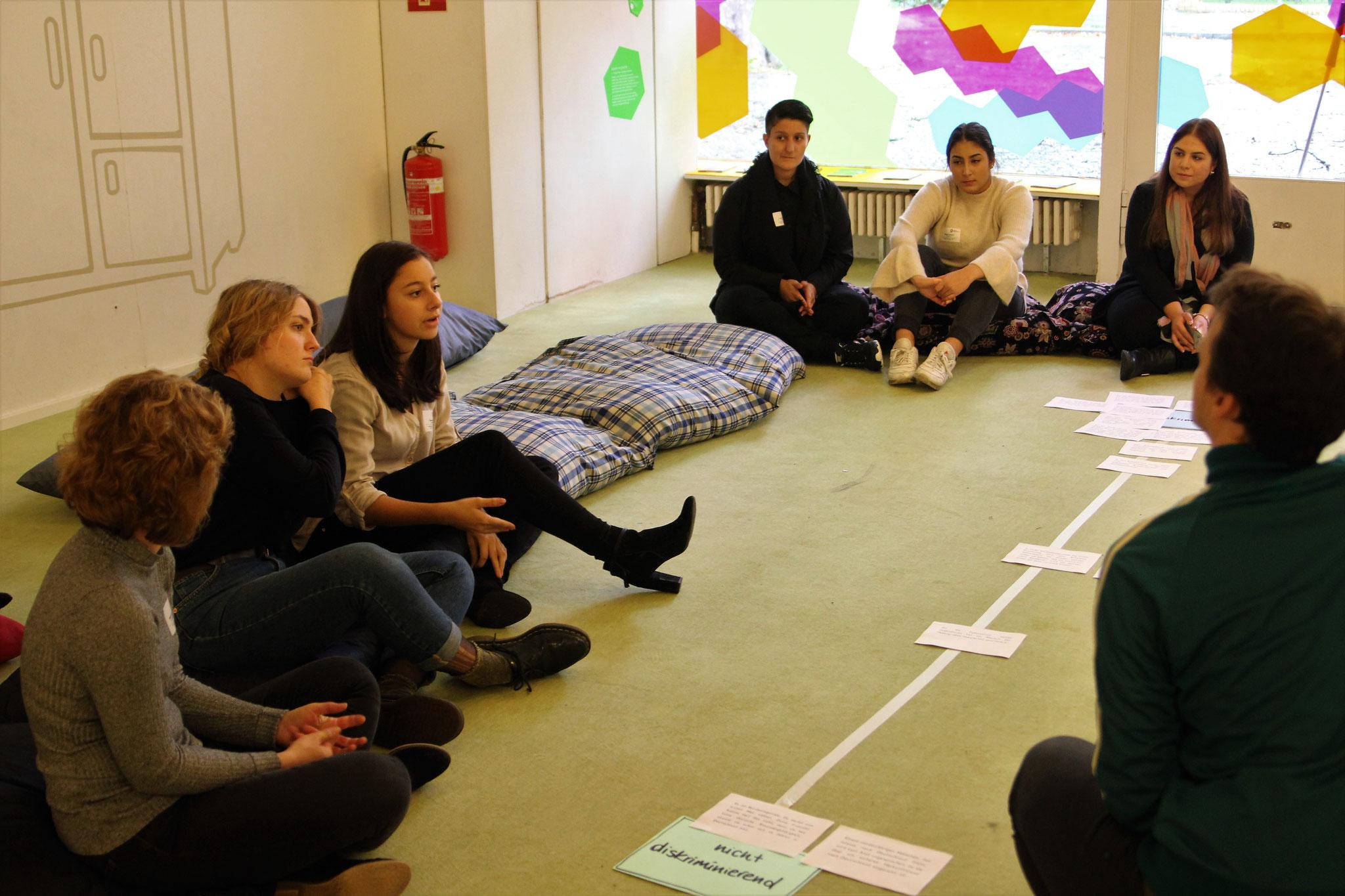 7xjung Workshop zu Rassismus und Diskriminierung