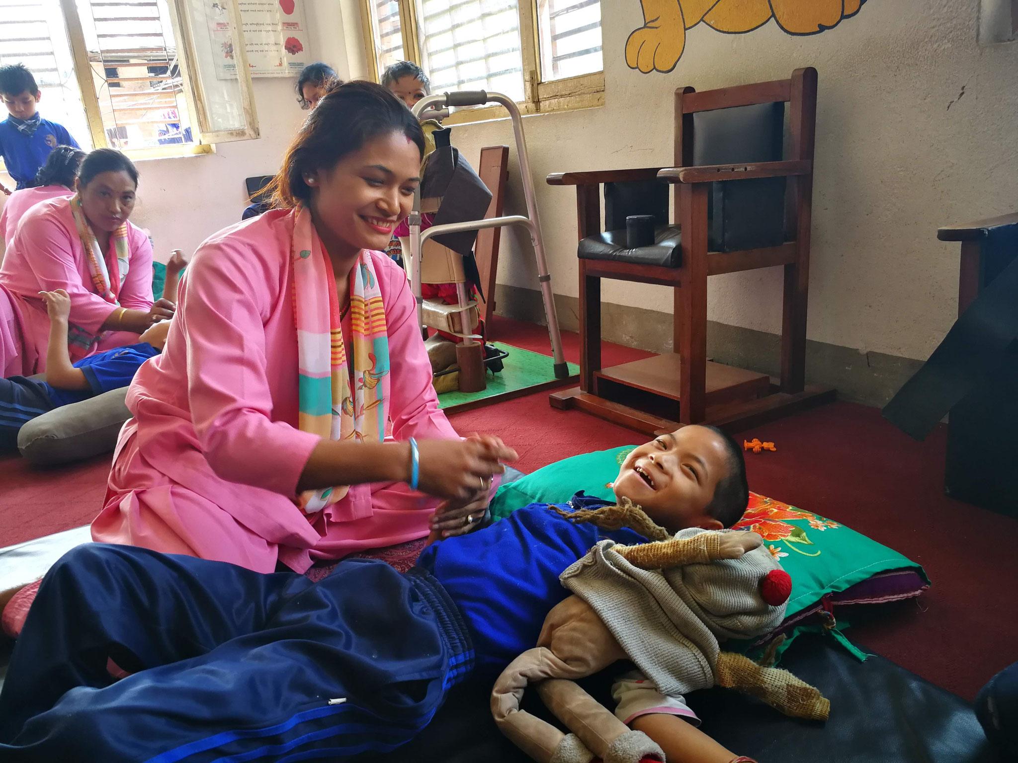 A Satprayas, les professionnels sont ravies des perspectives du programme travail-insertion