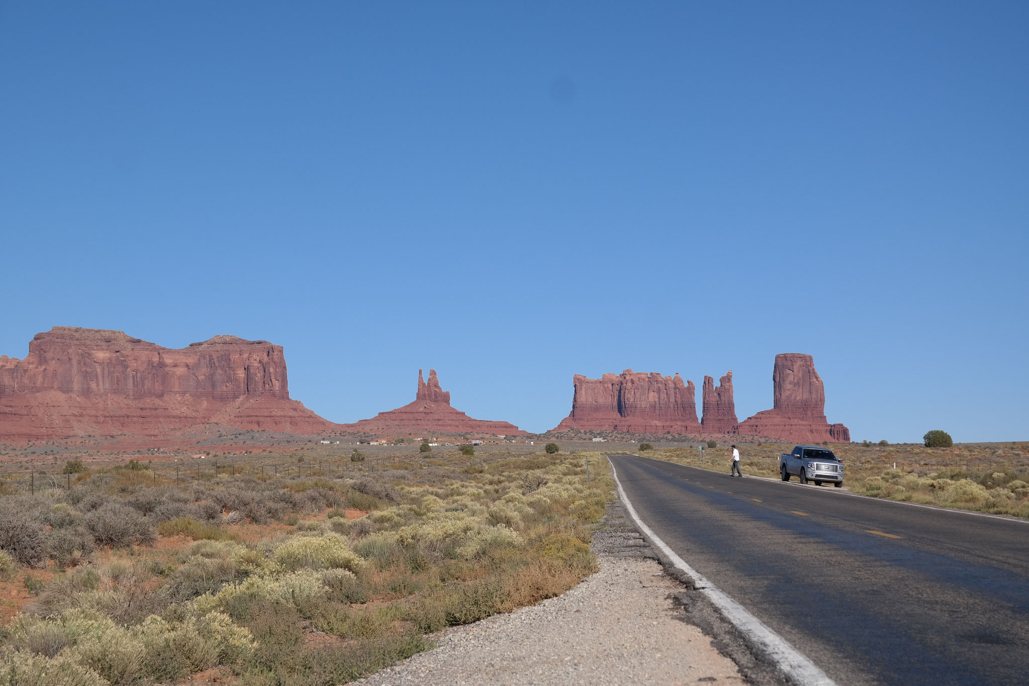 Monument Valley nach Flagstaff