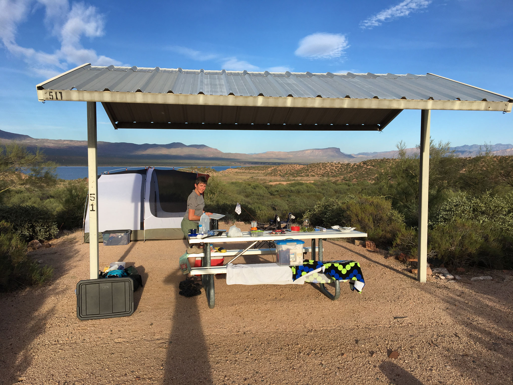 Windi Hills Campground Theodor Roosevelt Lake