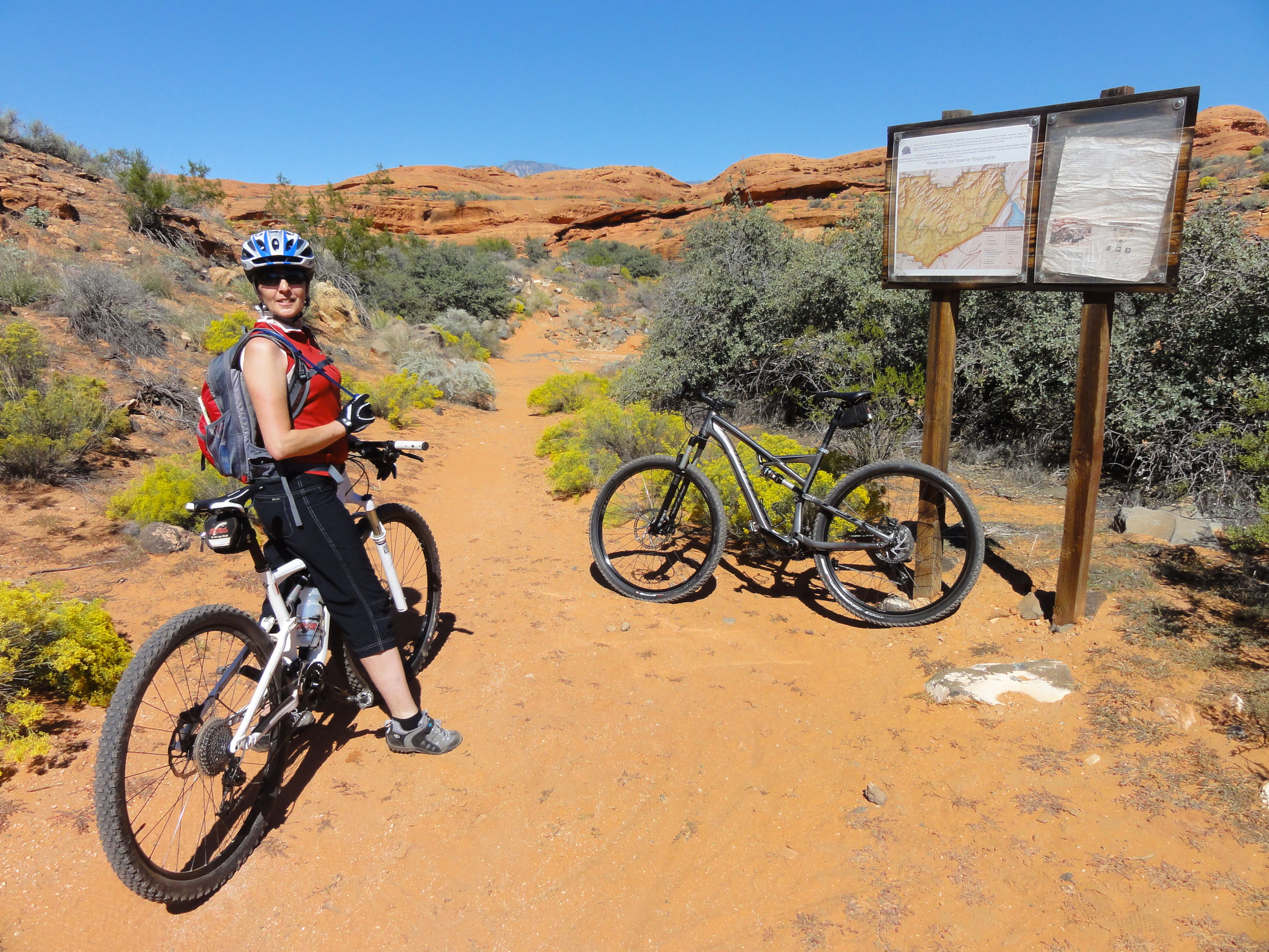 MTB in St. George Bikes von Red Rock Cyclery
