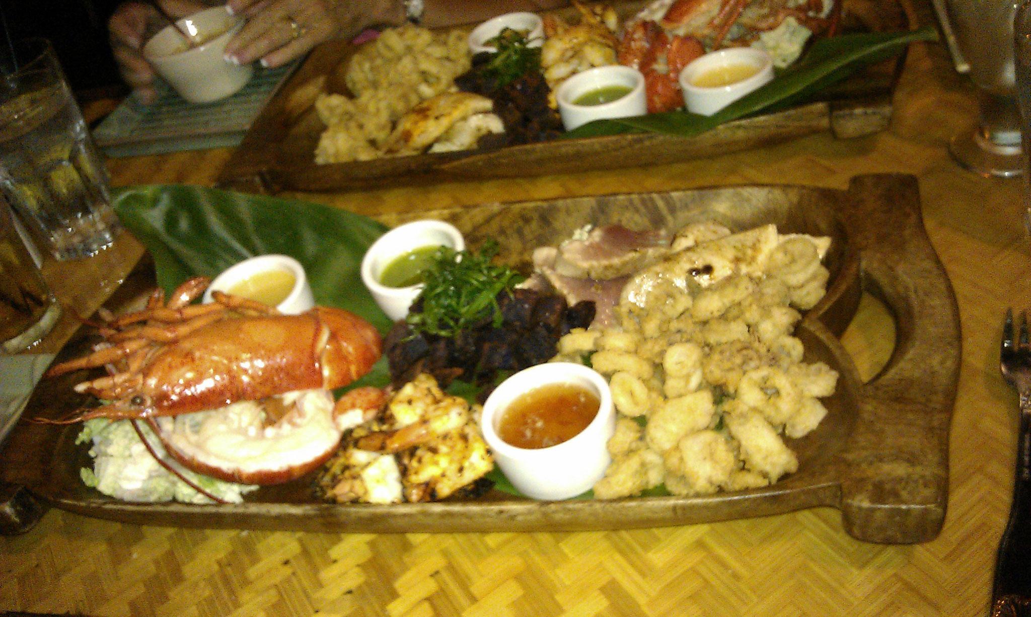 sehr guter Fisch im Plantation Grill, Kawaihae