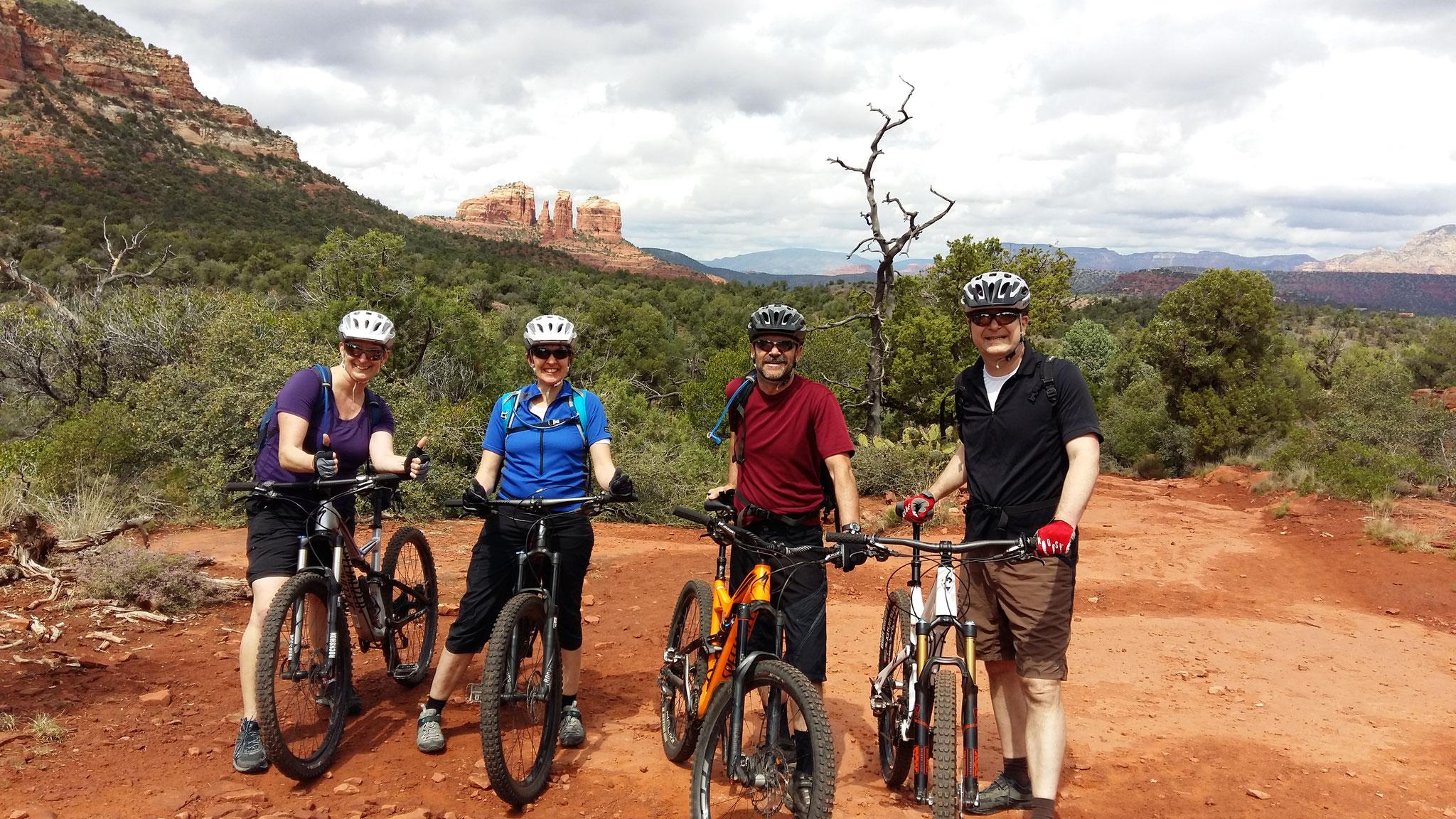 The mountainbike gang