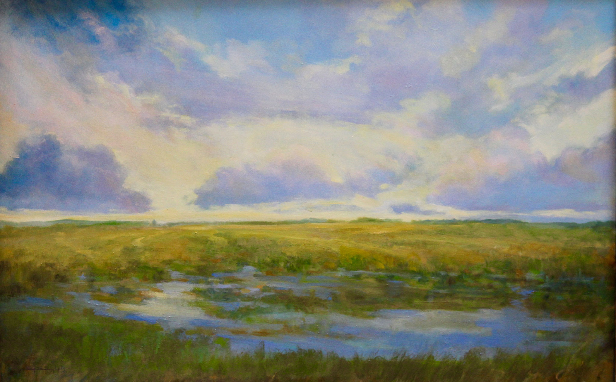 "The Clouds of of Doe Run-oil- 36""x24"""
