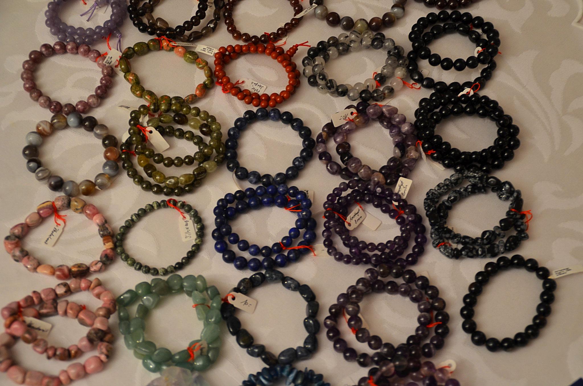 Heilsteine Armbänder