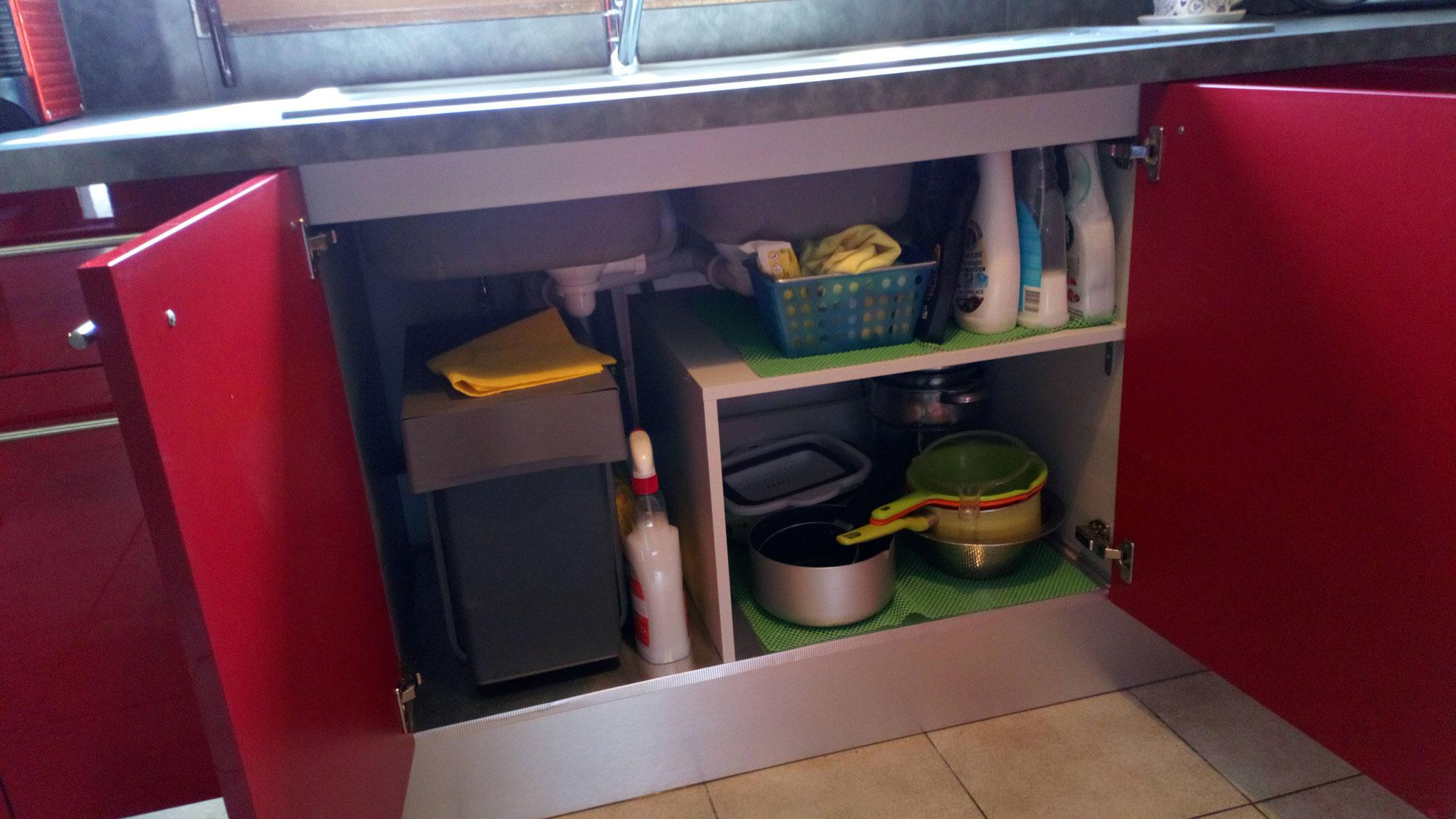 Aménagement du meuble sous évier