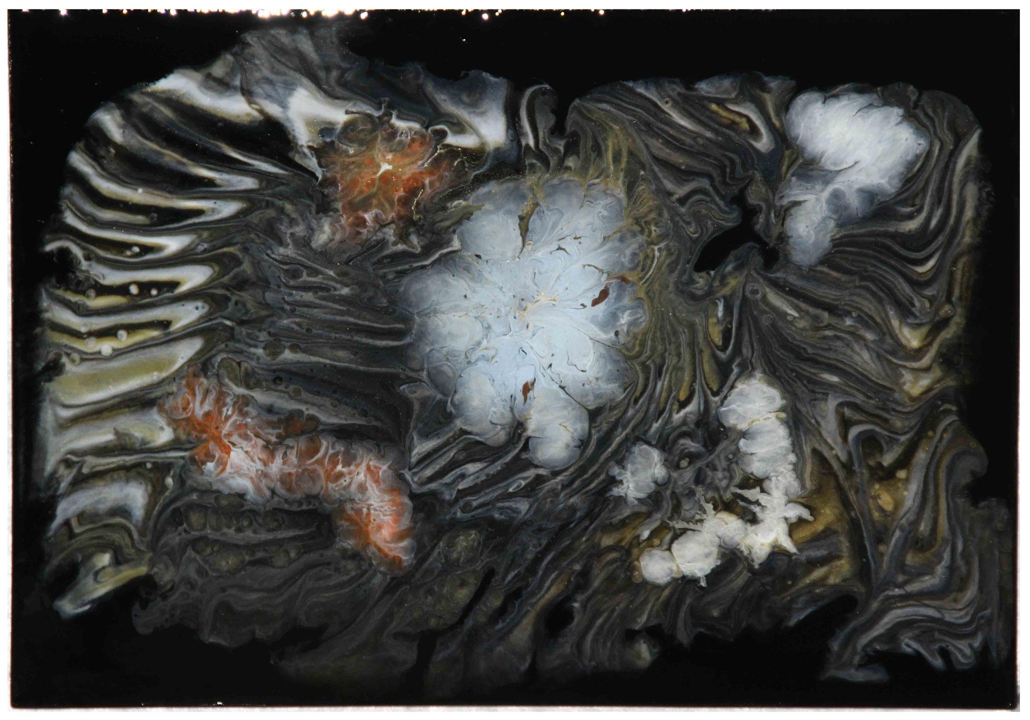 Violett - Resin Art -