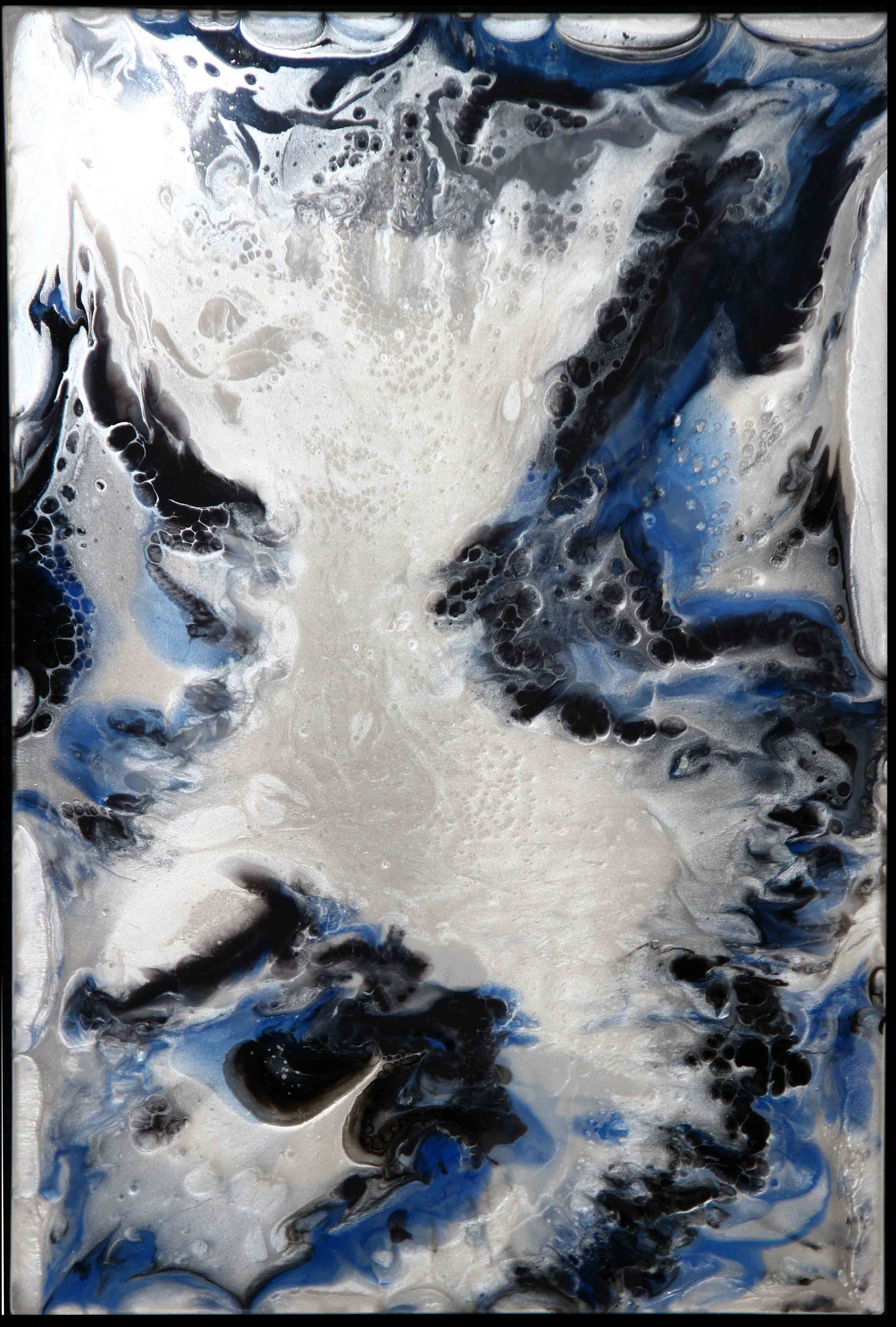 White Water - Resin Art -