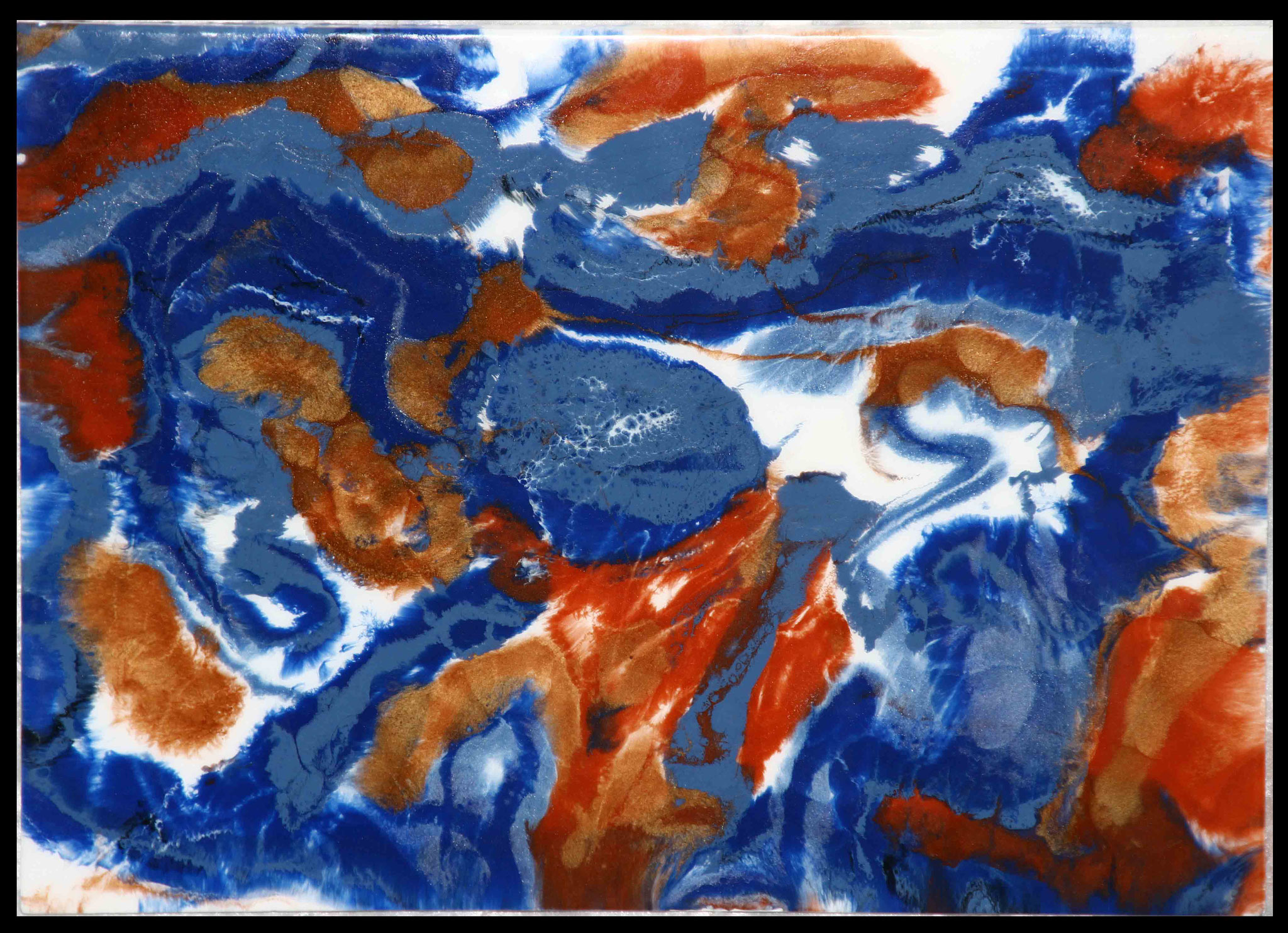 Red´n Blue - Resin Art -