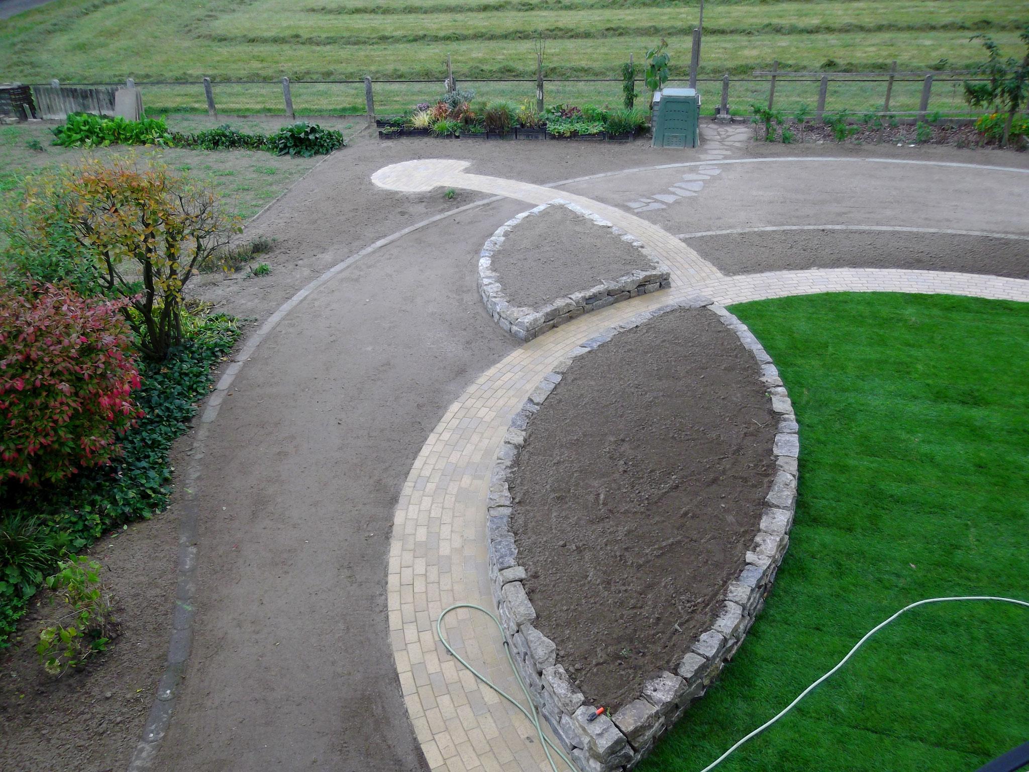 Geoglyphen im Garten?! Korfmacher macht's möglich!