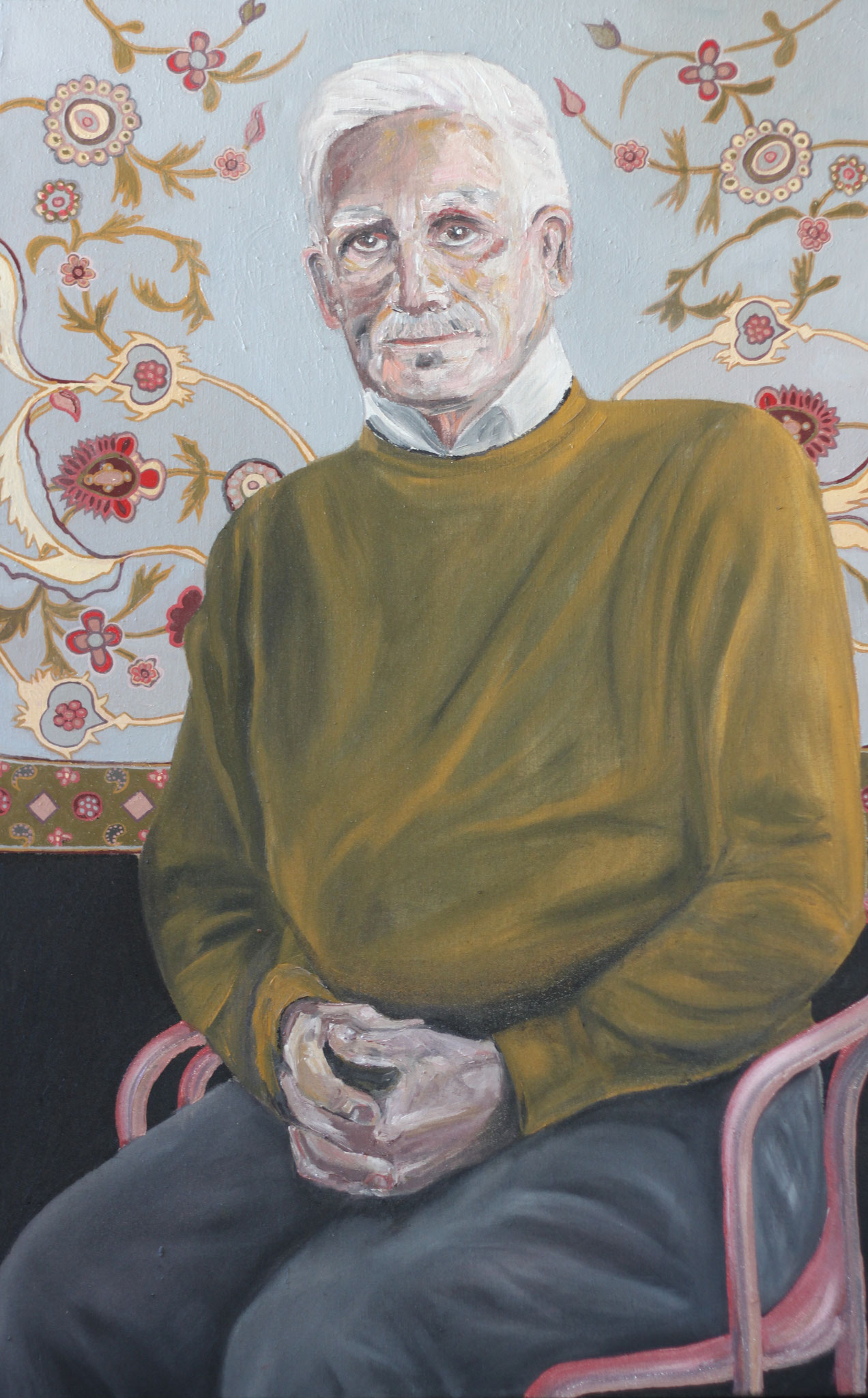Nader, Öl auf Leinwand, 110 cm x 70 cm, 2015