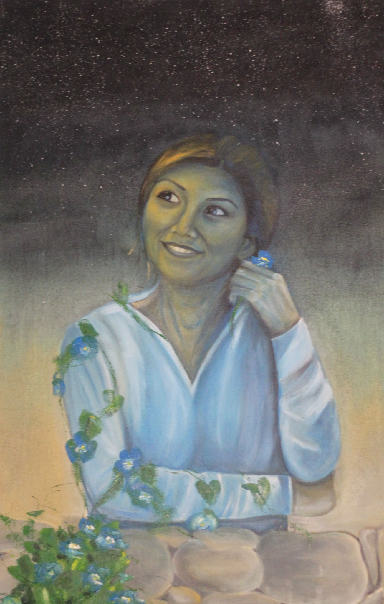 Anis, Öl auf Leinwand, 110 cm x 70 cm, 2015