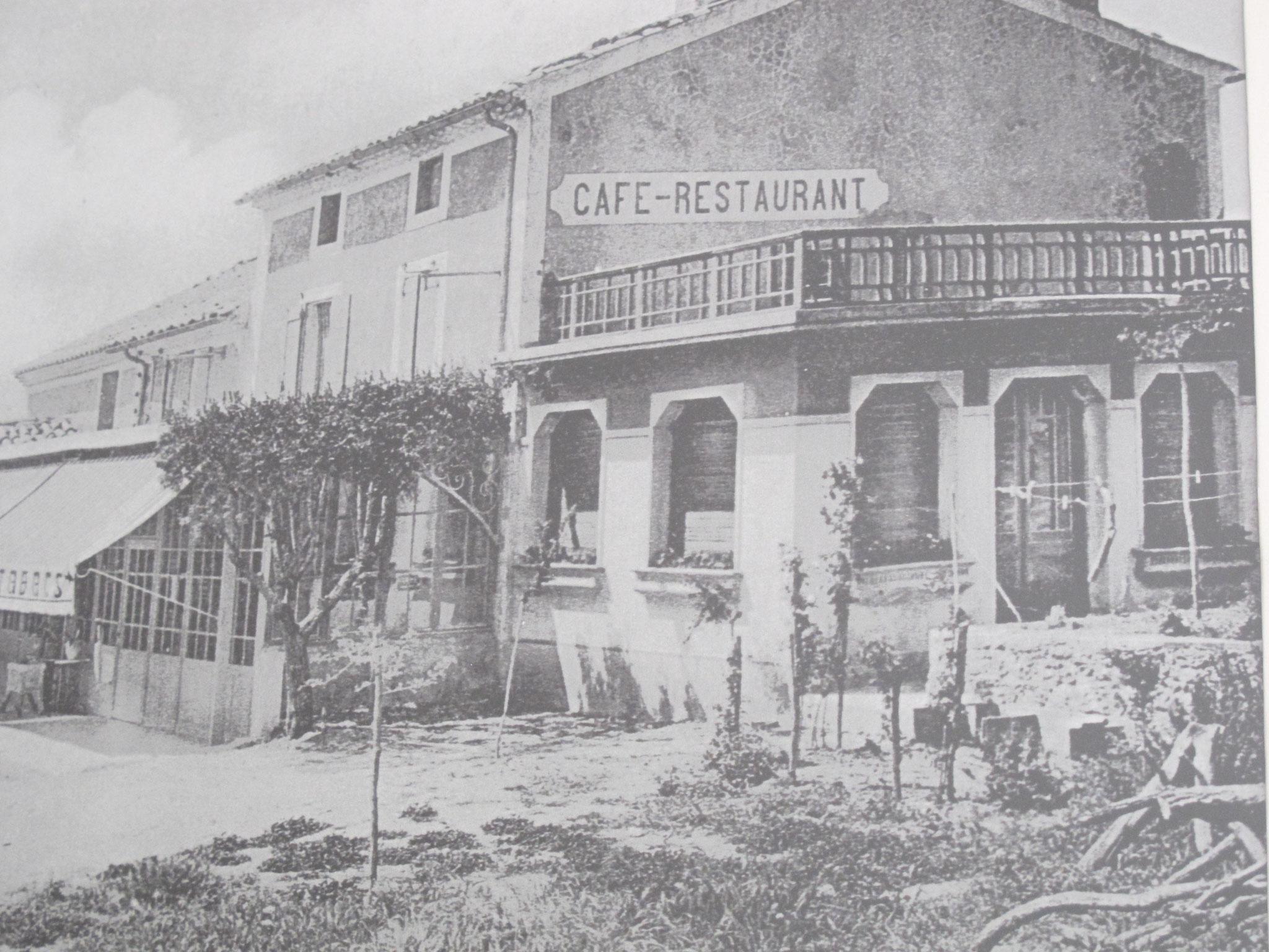 Hôtel pension restaurant le Guintrand au pied du mont Ventoux Bedoin chambre