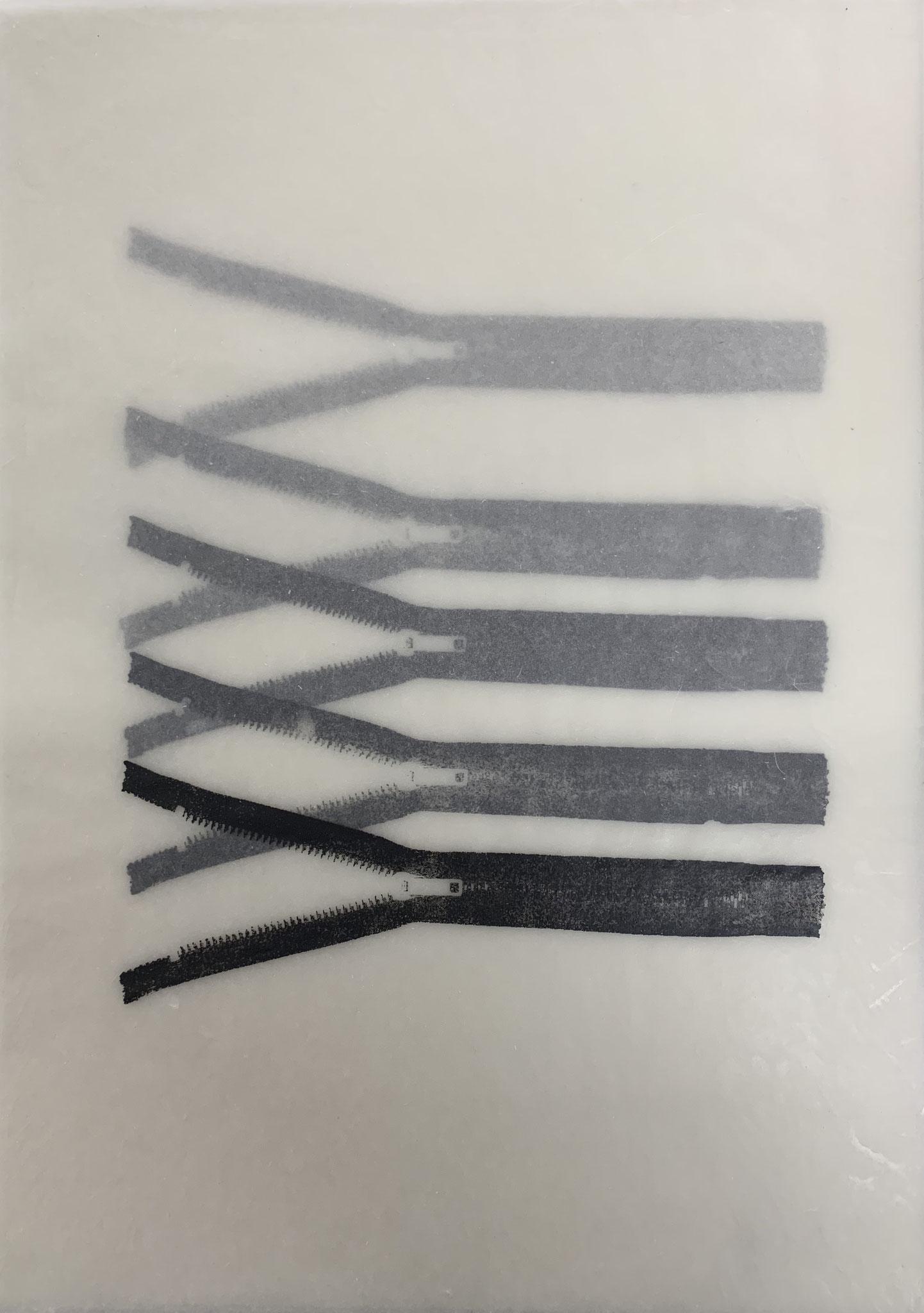 linksoffen4 | siebdruck  | 42x29,7cm | 2018