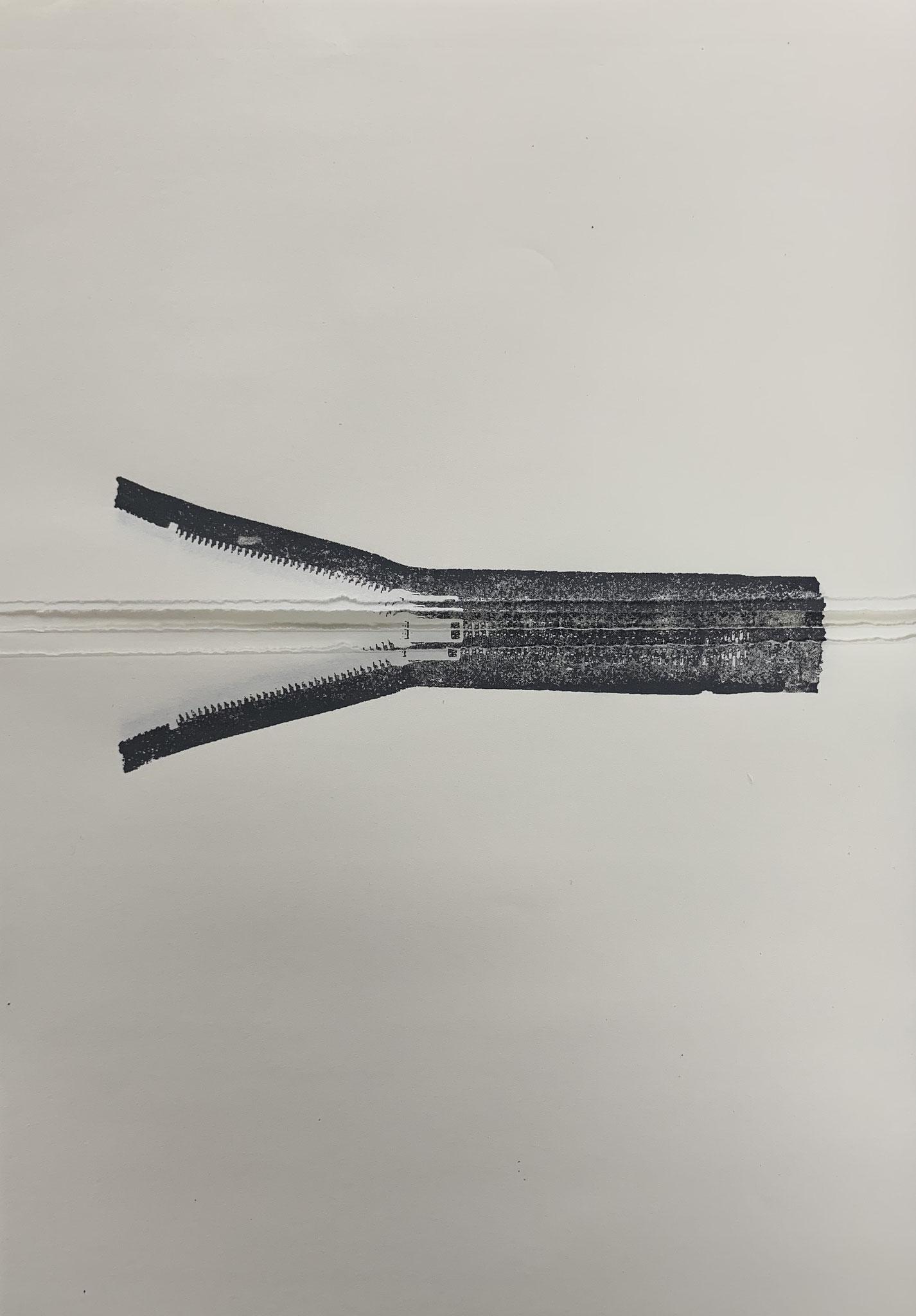 linksoffen2 | siebdruck | 42x29,7cm | 2018