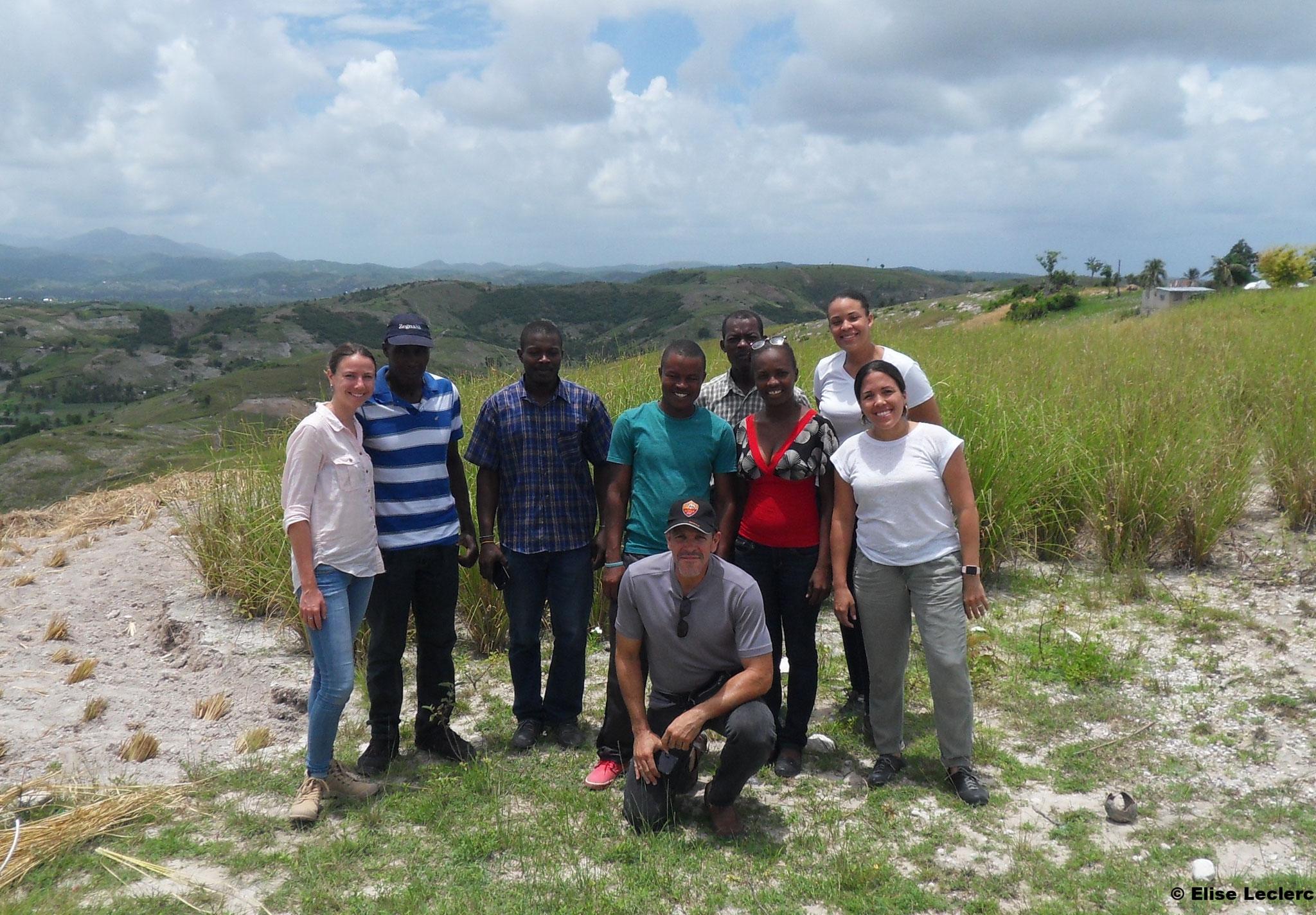 Visite terrain auprès de la coopérative COPVED en juin 2017