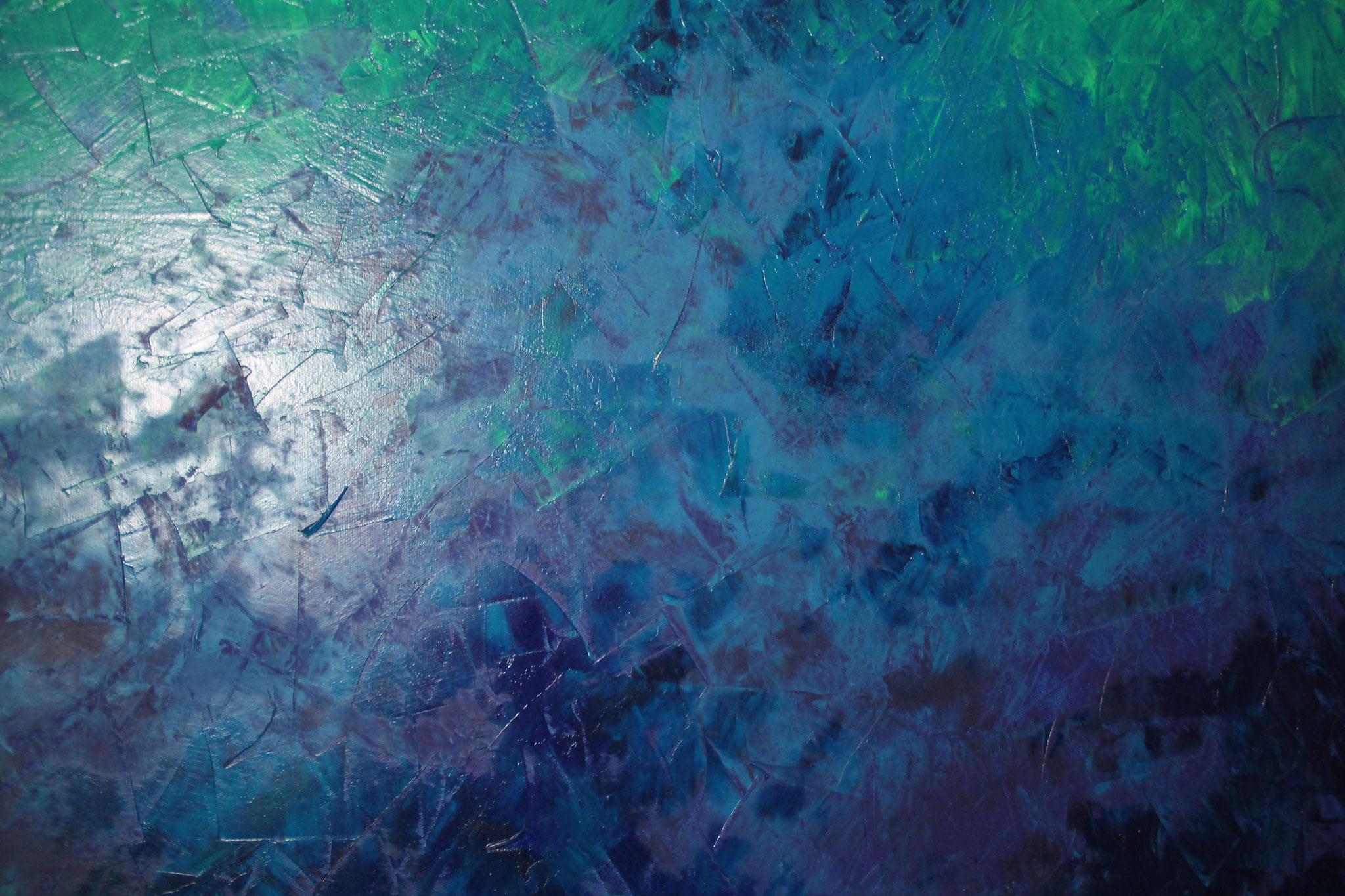Tiefsee, Öl auf Leinwand, 2016