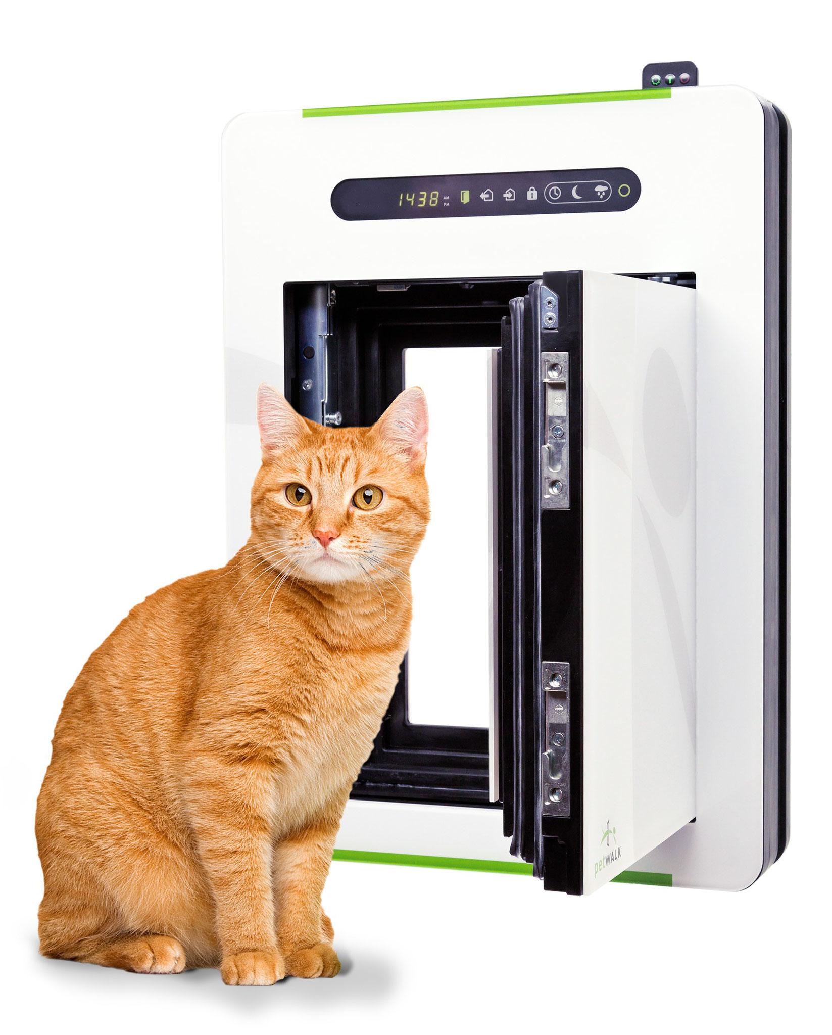 Porte automatique chati res odomestic - Porte automatique pour chien ...