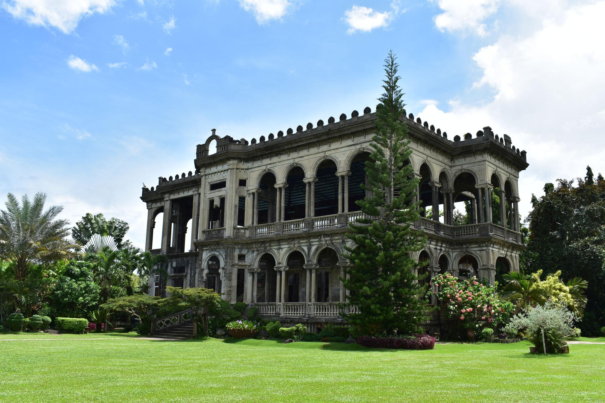 Die Ruine in Talisay auf Negros