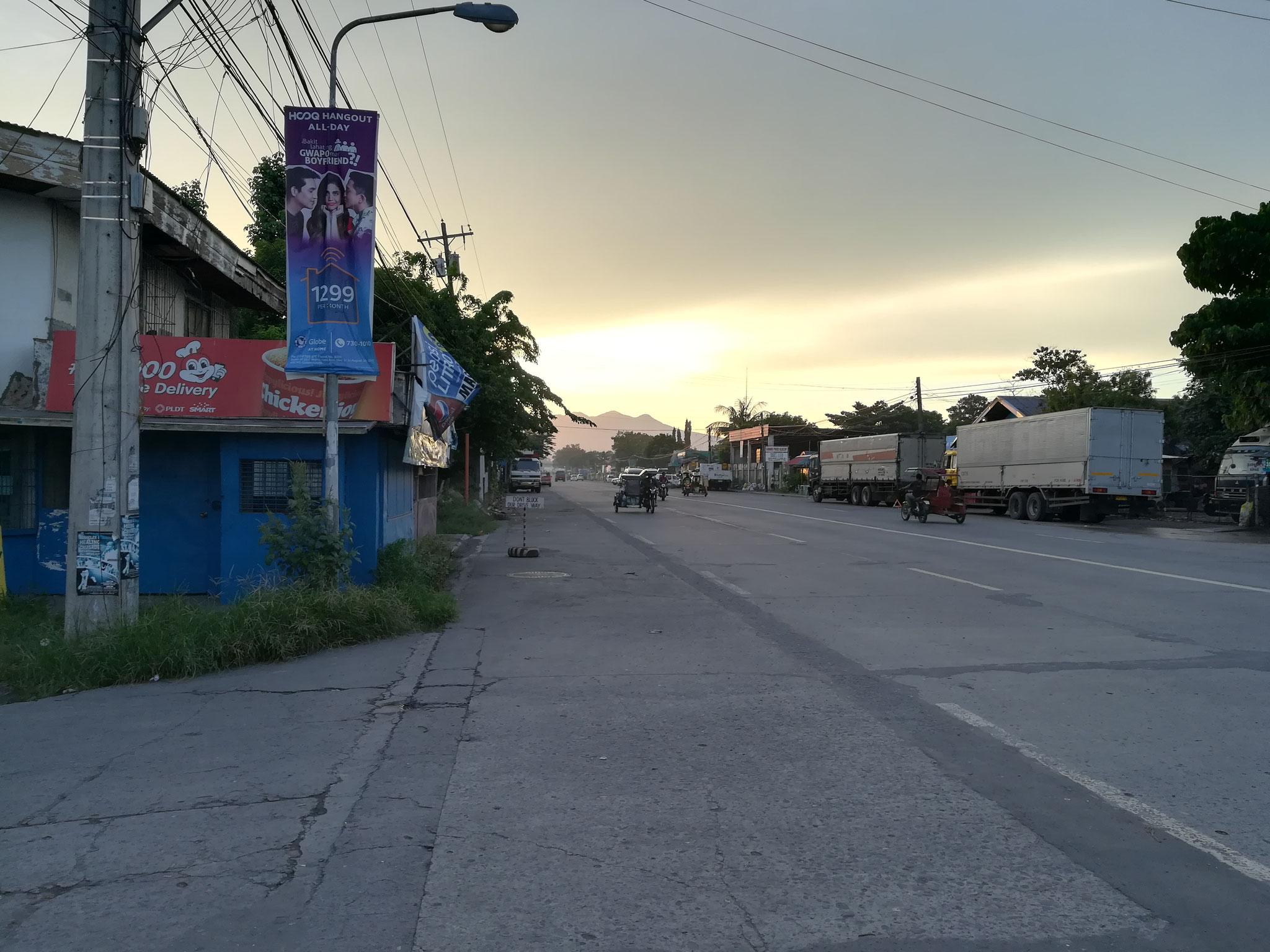 Sonnenaufgang in Bacolod