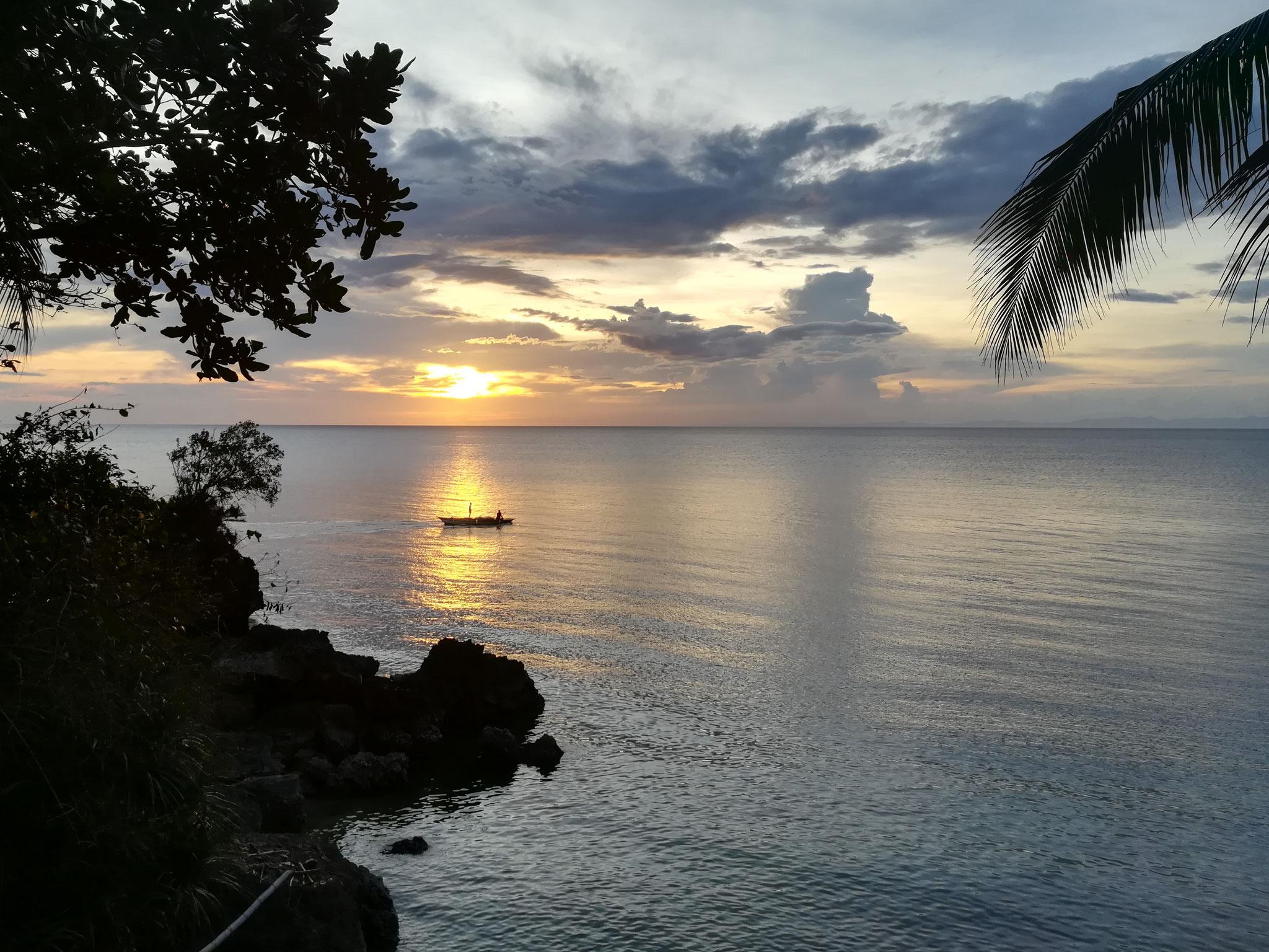 Sonnenuntergang auf Guimaras