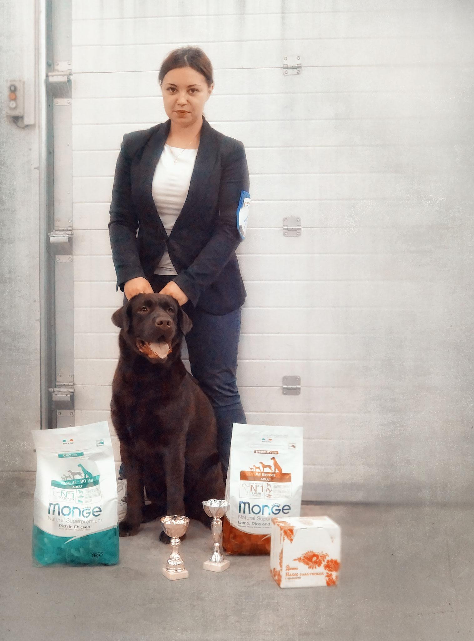 Стелла Фиделис Икс - Лучший Представитель Породы, Лучшая Собака Монопородной Выставки (15 месяцев)