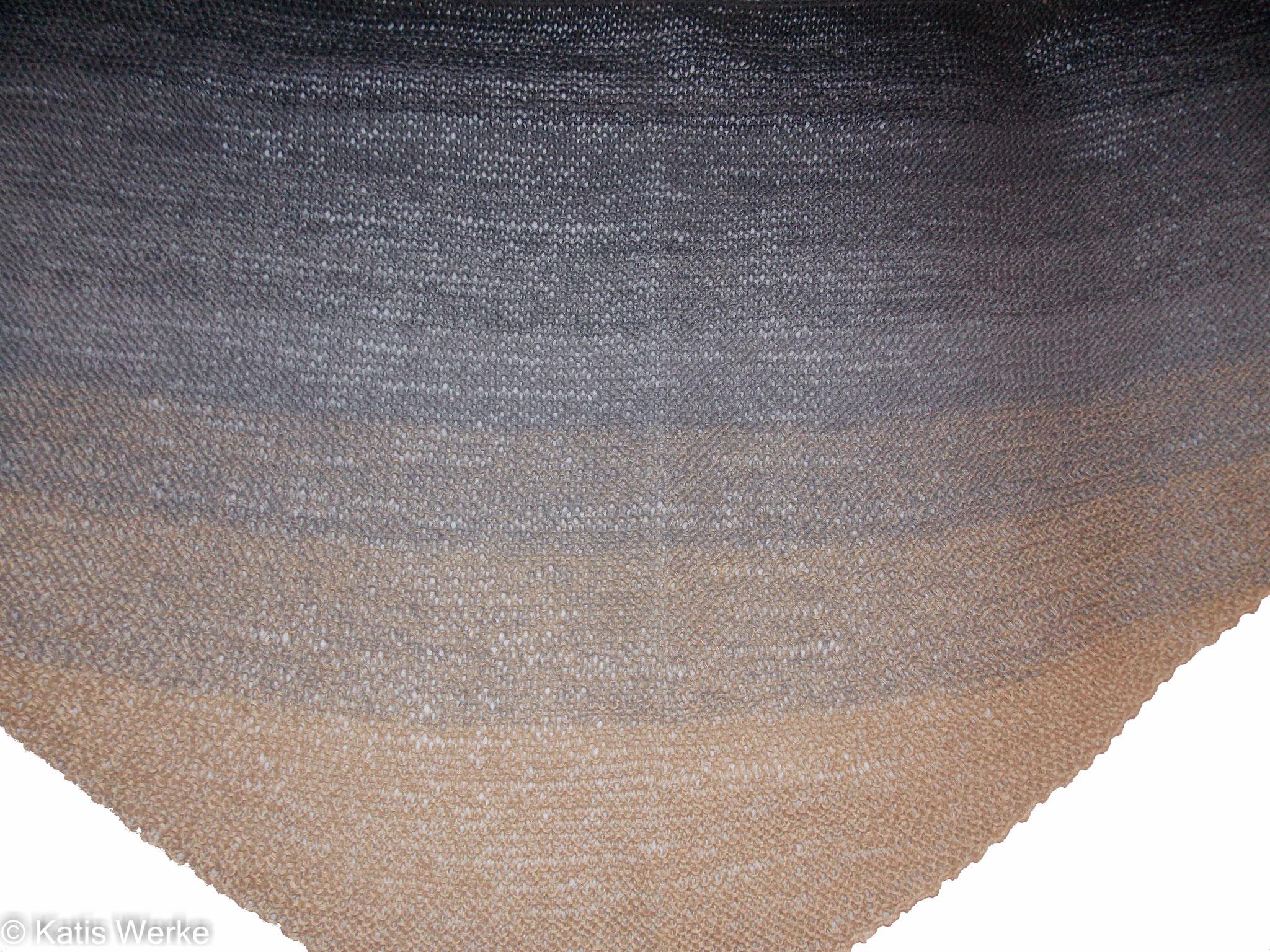 Das Tüchle aus dem Strandkiesel von 100Farbspiele