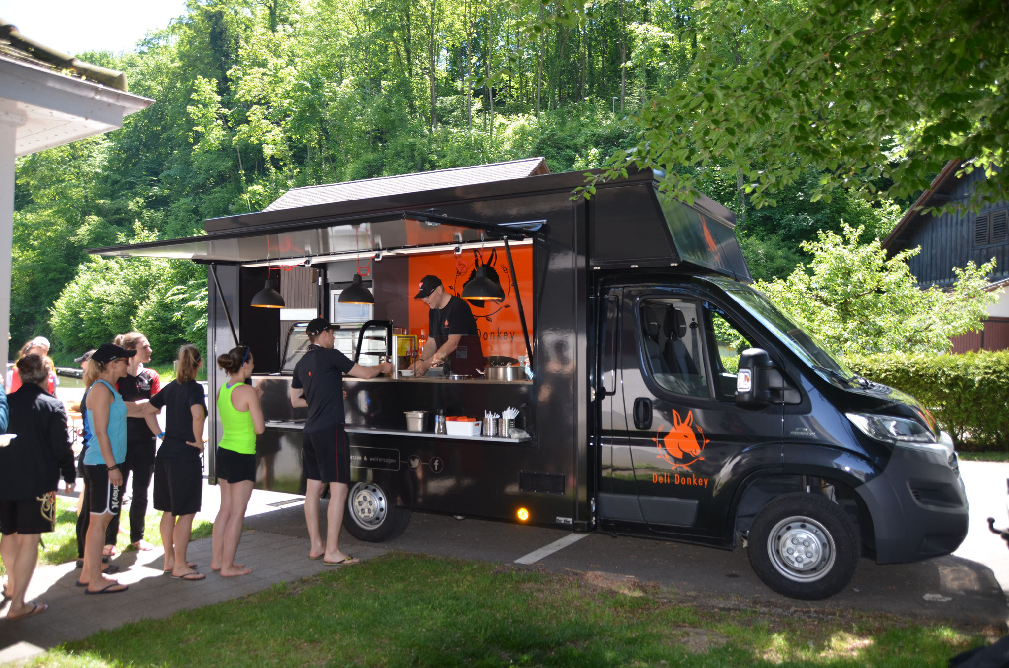 Catering: Drachenboot-Club Eglisau, Trainingseinheit, Mai 2016