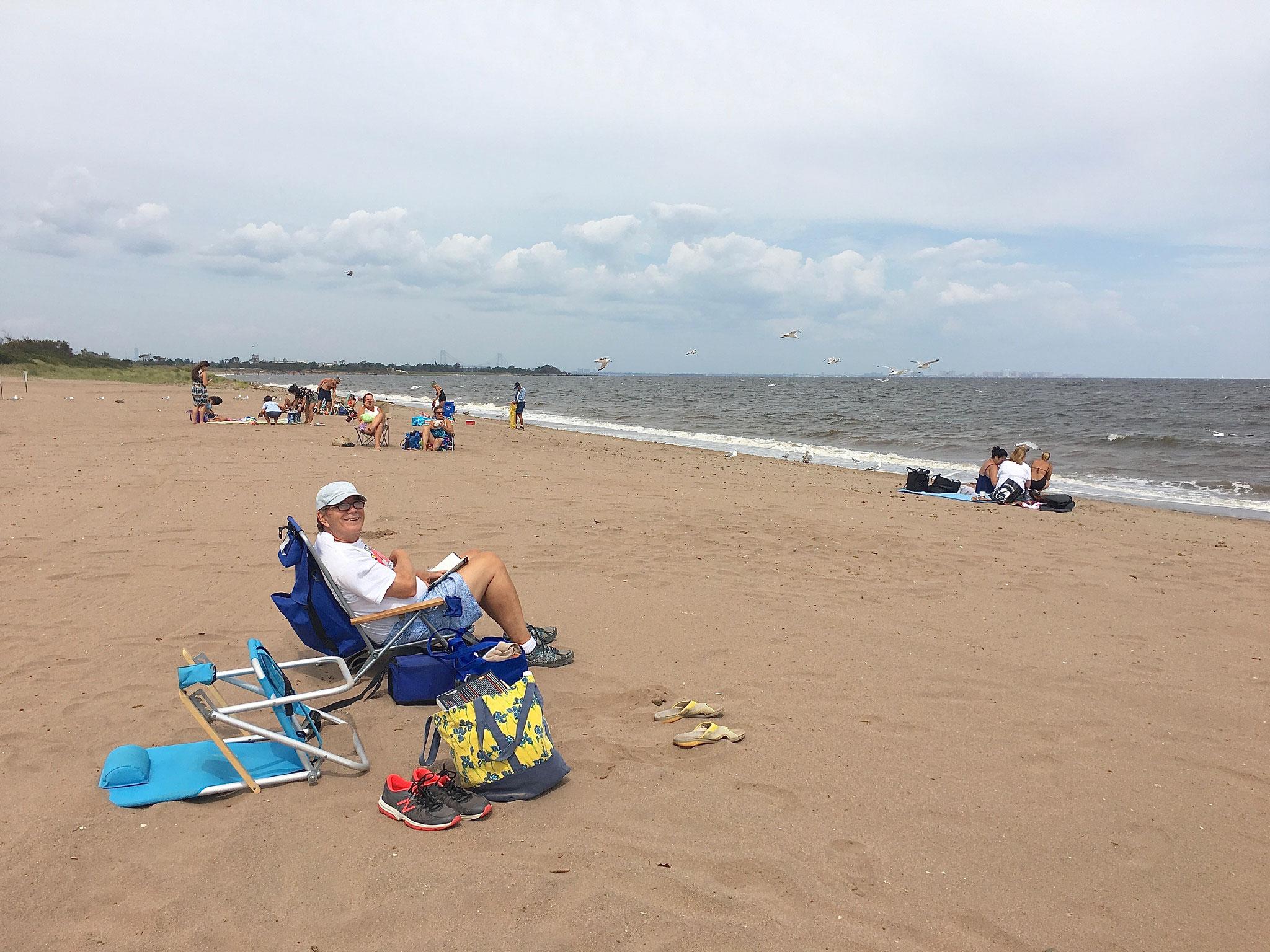 Freshkills Beach on Staten Is.  8-2020