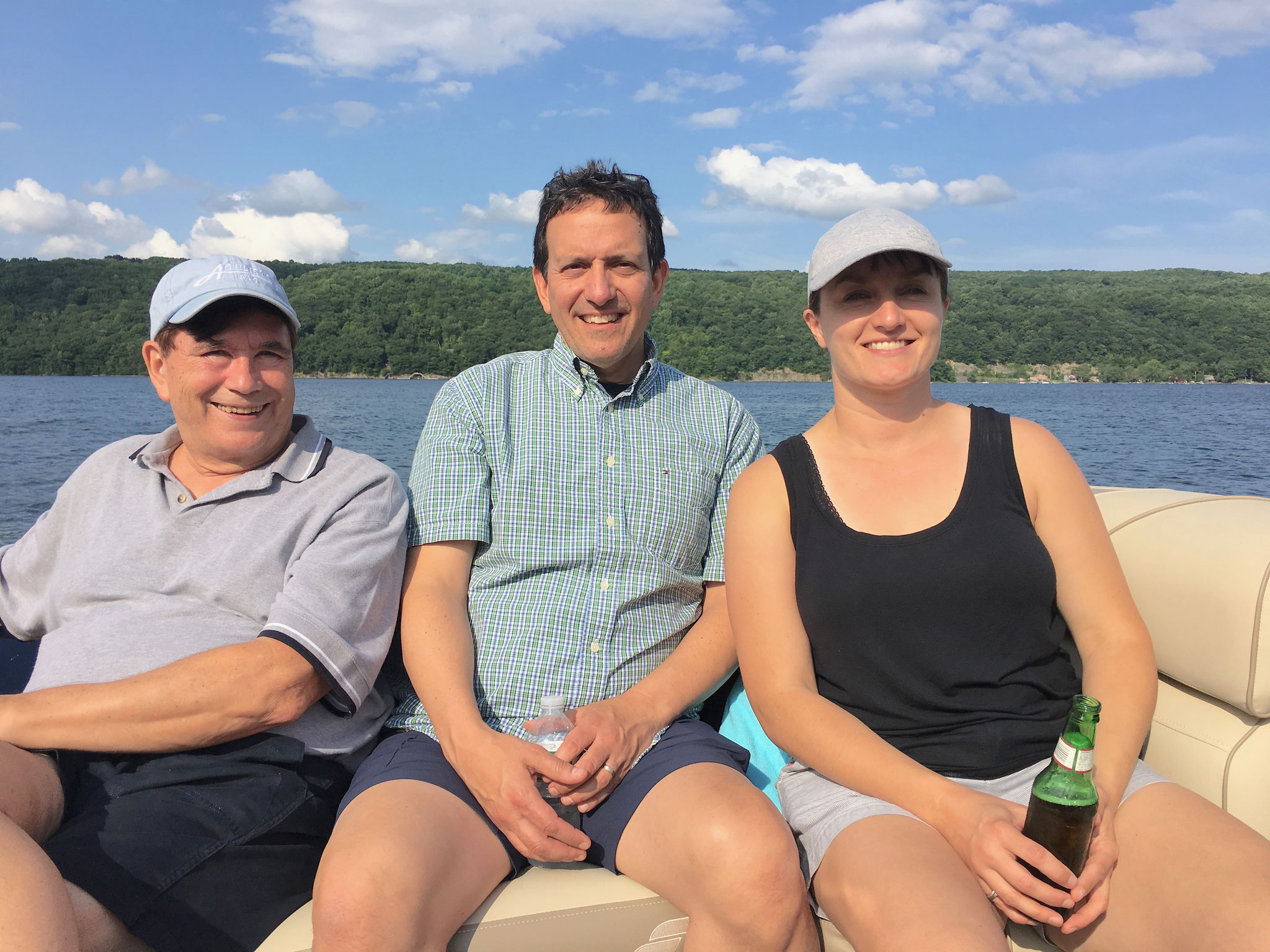 John, Nick, & Wendy, July 2018