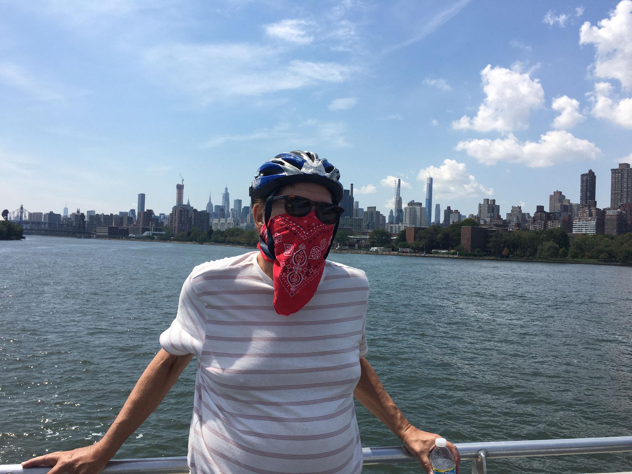 Bandit 14, Ferry, NYC  8-2020