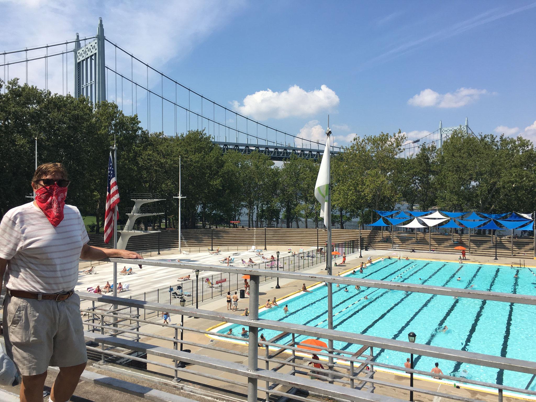 Bandit 13, Astoria Pool, NYC 8-2020