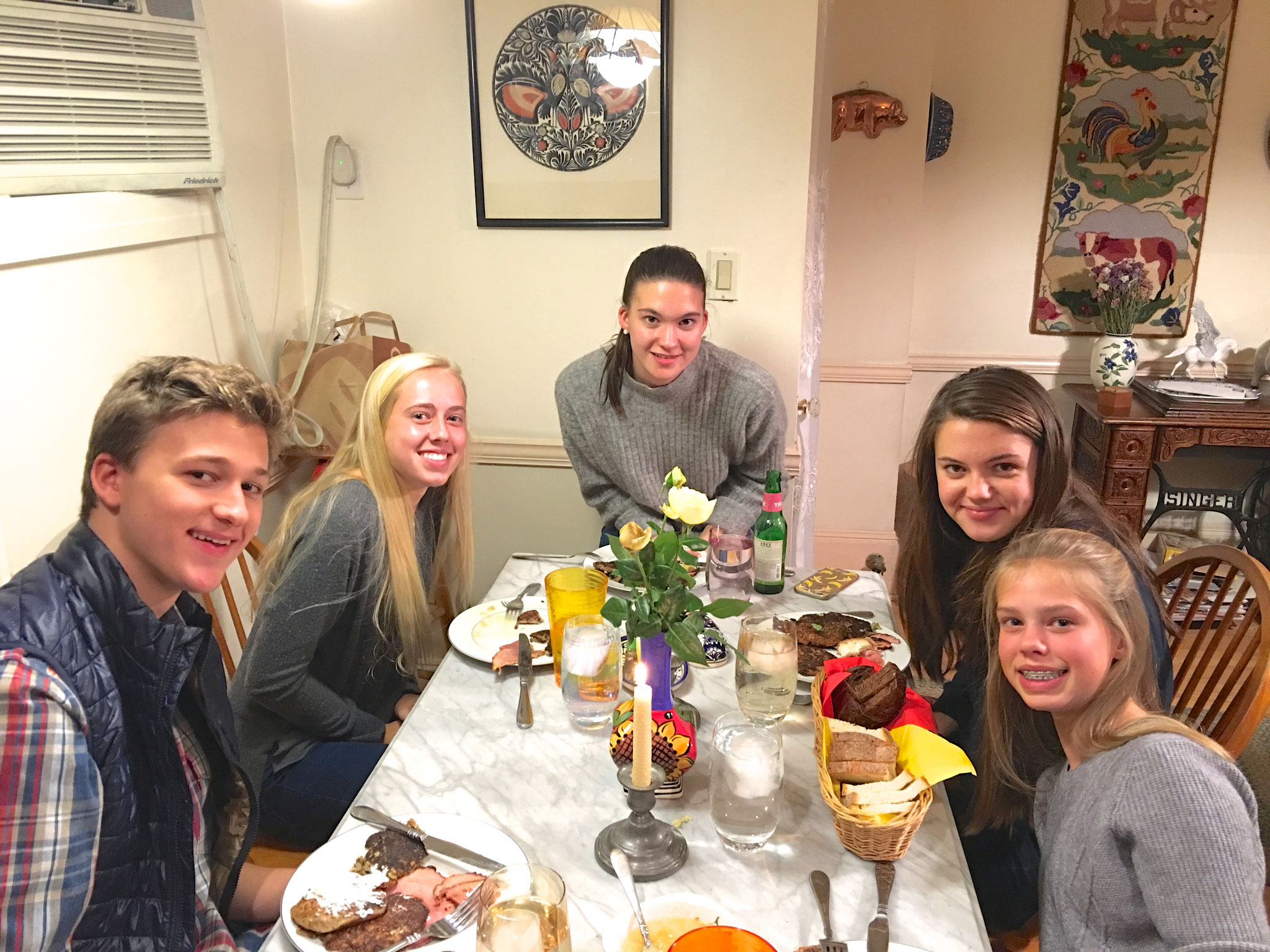 Jack, Brooke, Ellie, Kate, & Brianna   Nov. 2016 NYC