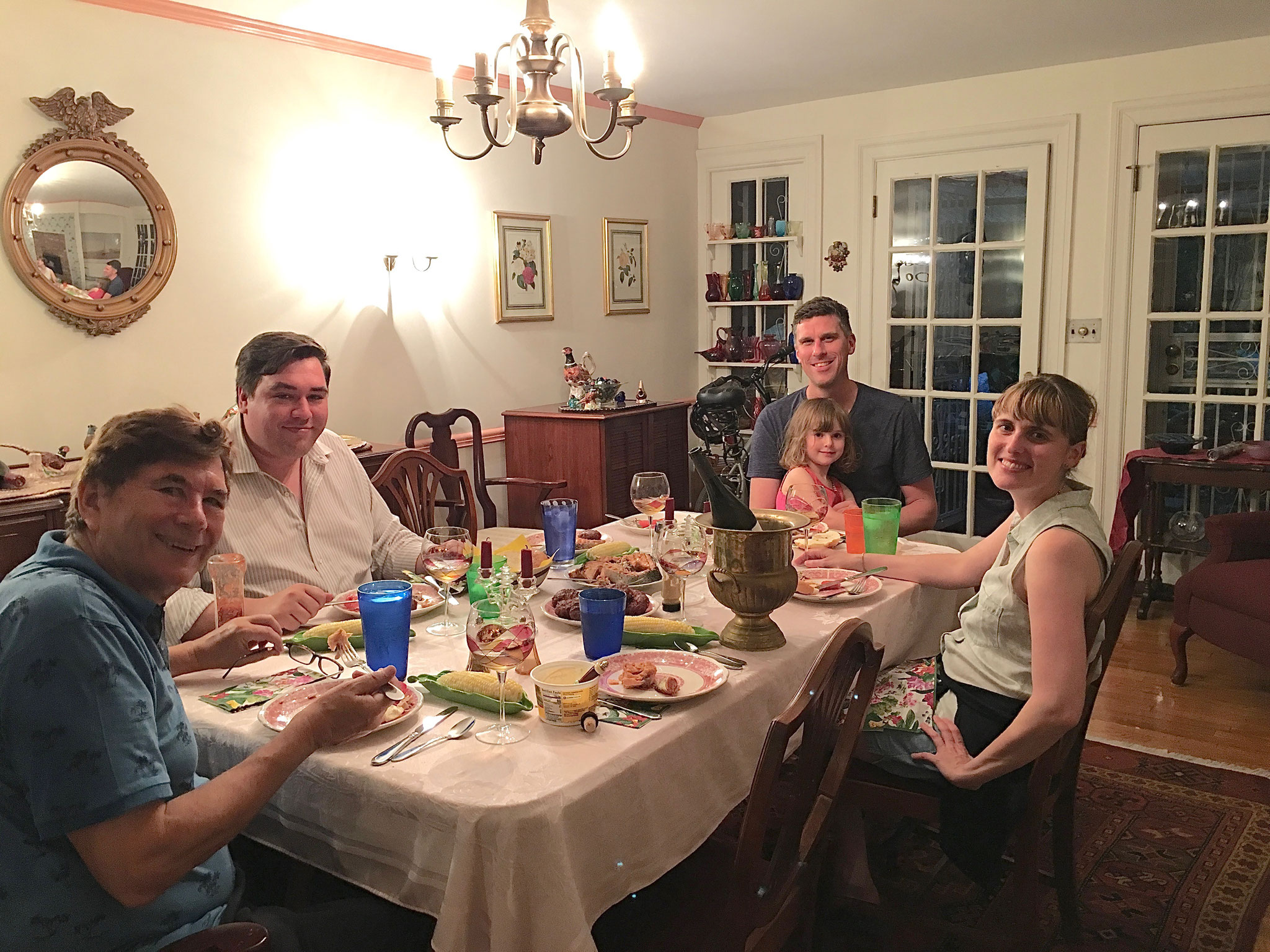 John, Greg, Patrick & Celine, Anna Groner NYC, July, 2019