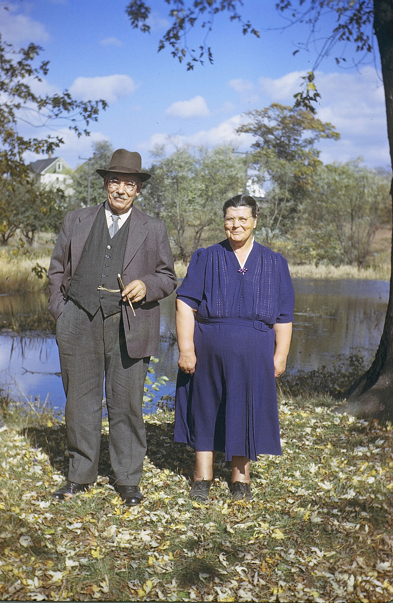 George and Helen Gudeczauskas  1930s, Cranston, RI