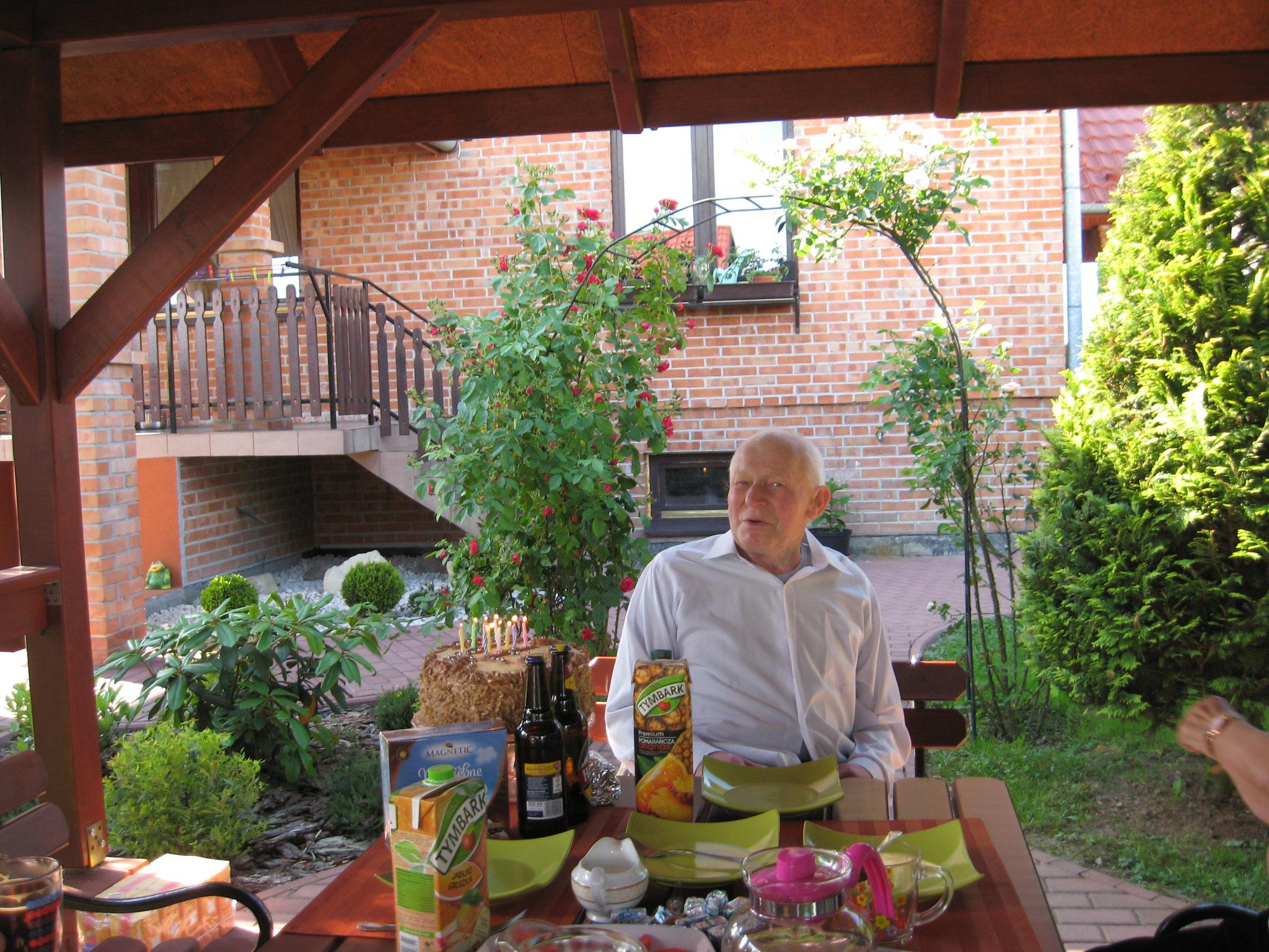 Eugeniusz (Genek), Jadwiga's husband, ~2017