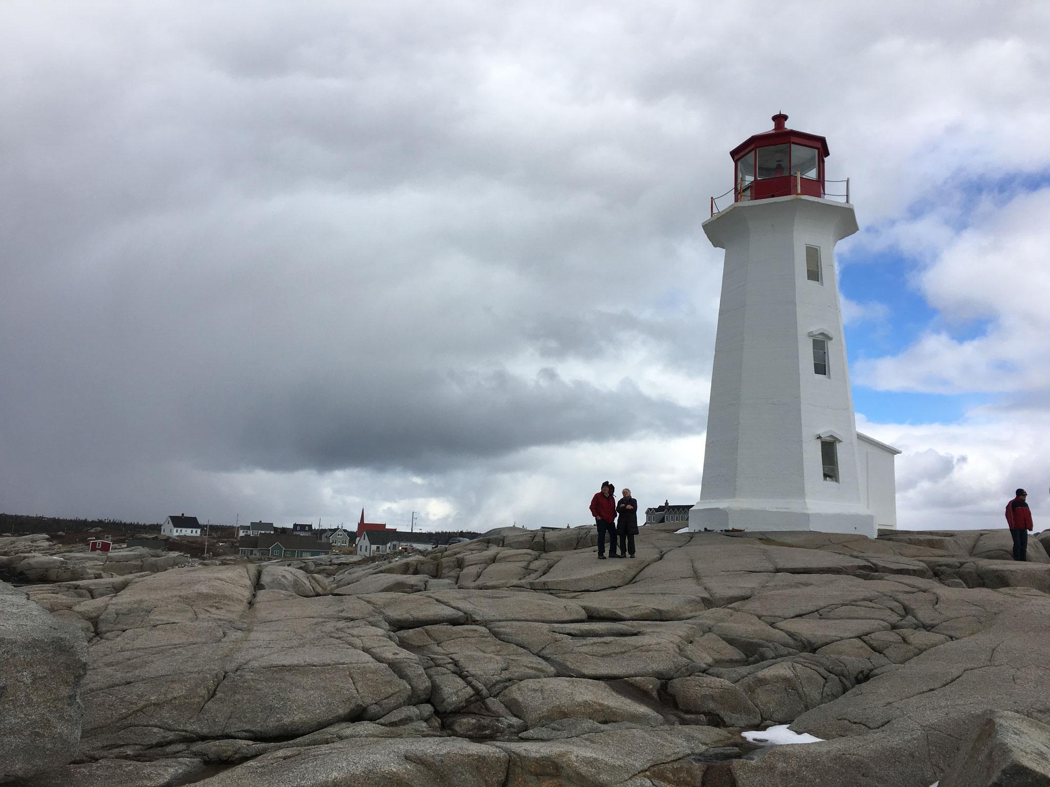 John & Susan Barner, Lorraine's cousin, at Jenny's Cove, Halifax, NS, Canada