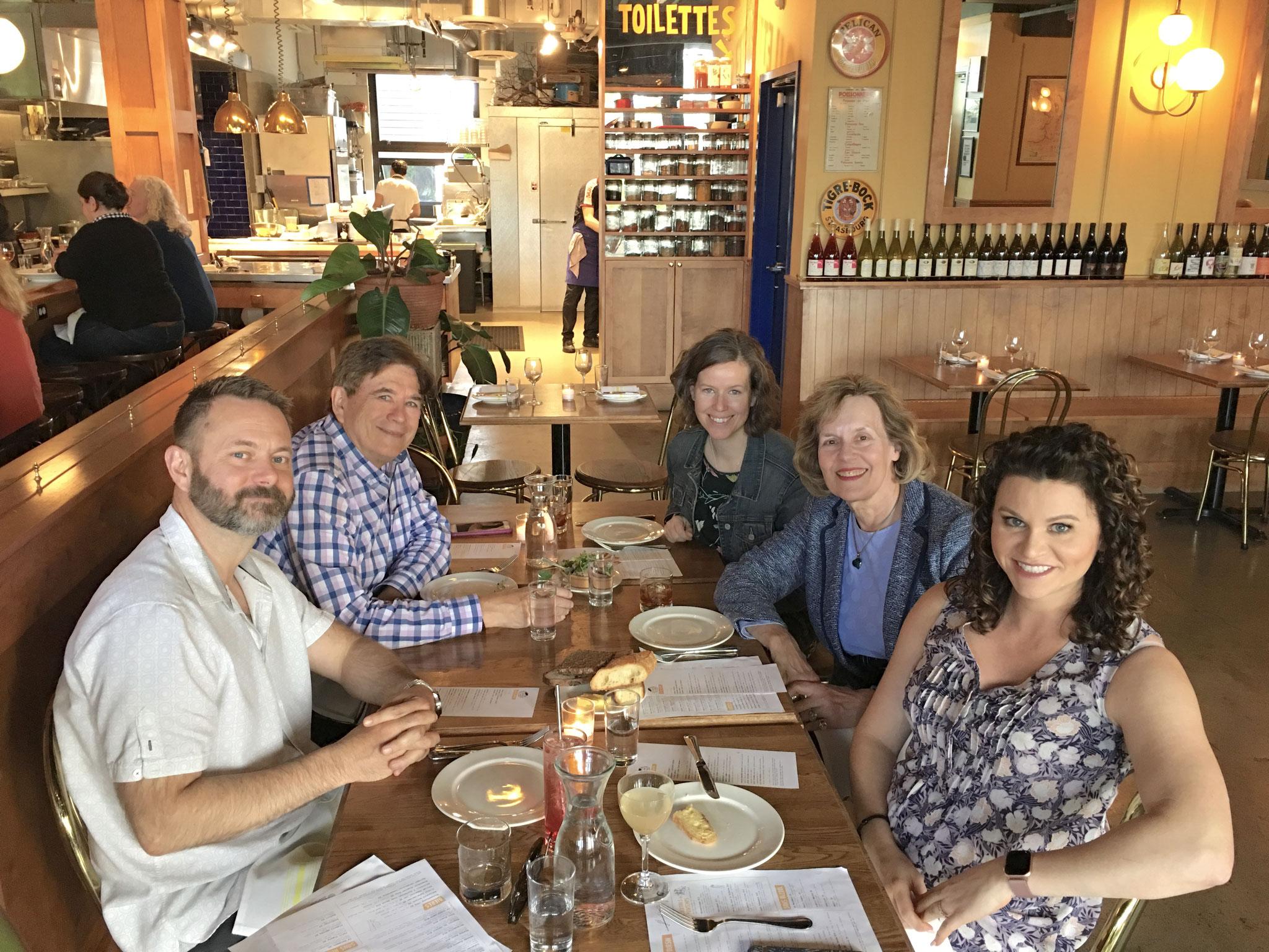 Max, John, Meg, Lorraine, & Amber May, 2019 Seattle, WA