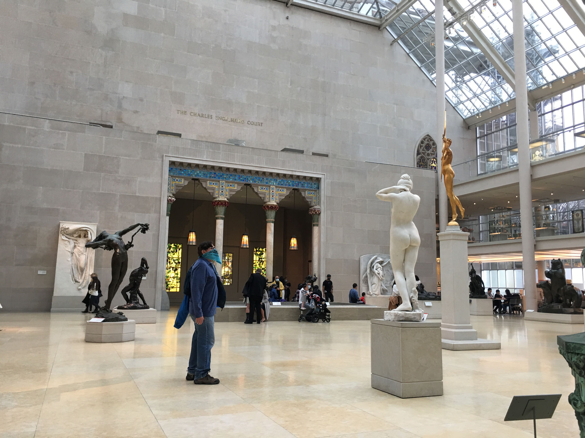 The Bandit  32 visits the Metropolitan Museum NYC March 28, 2021