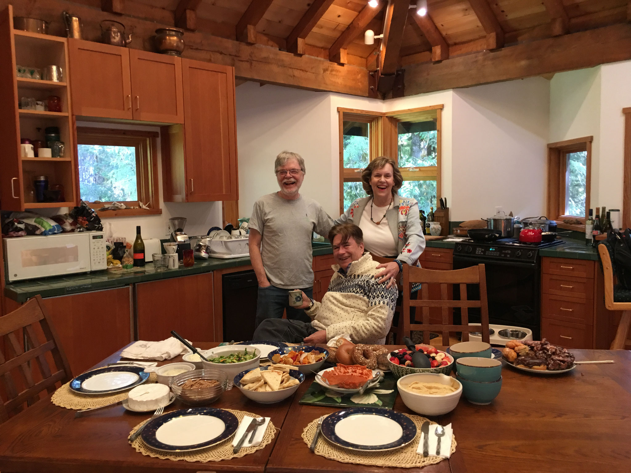 Steve, John, & Lorraine, May, 2019