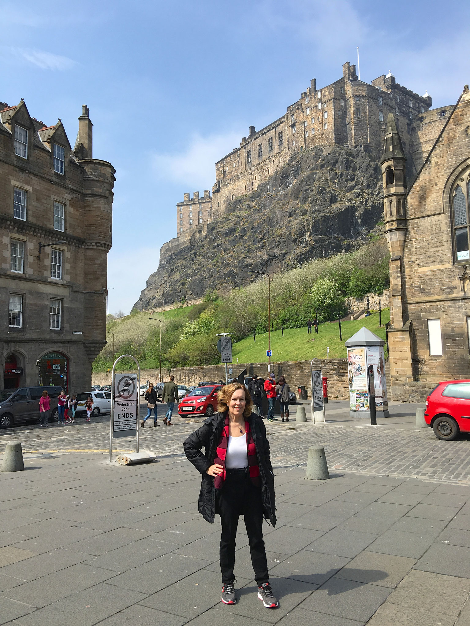 Lorraine Gudas at the Edinburgh Castle, May 6, 2016
