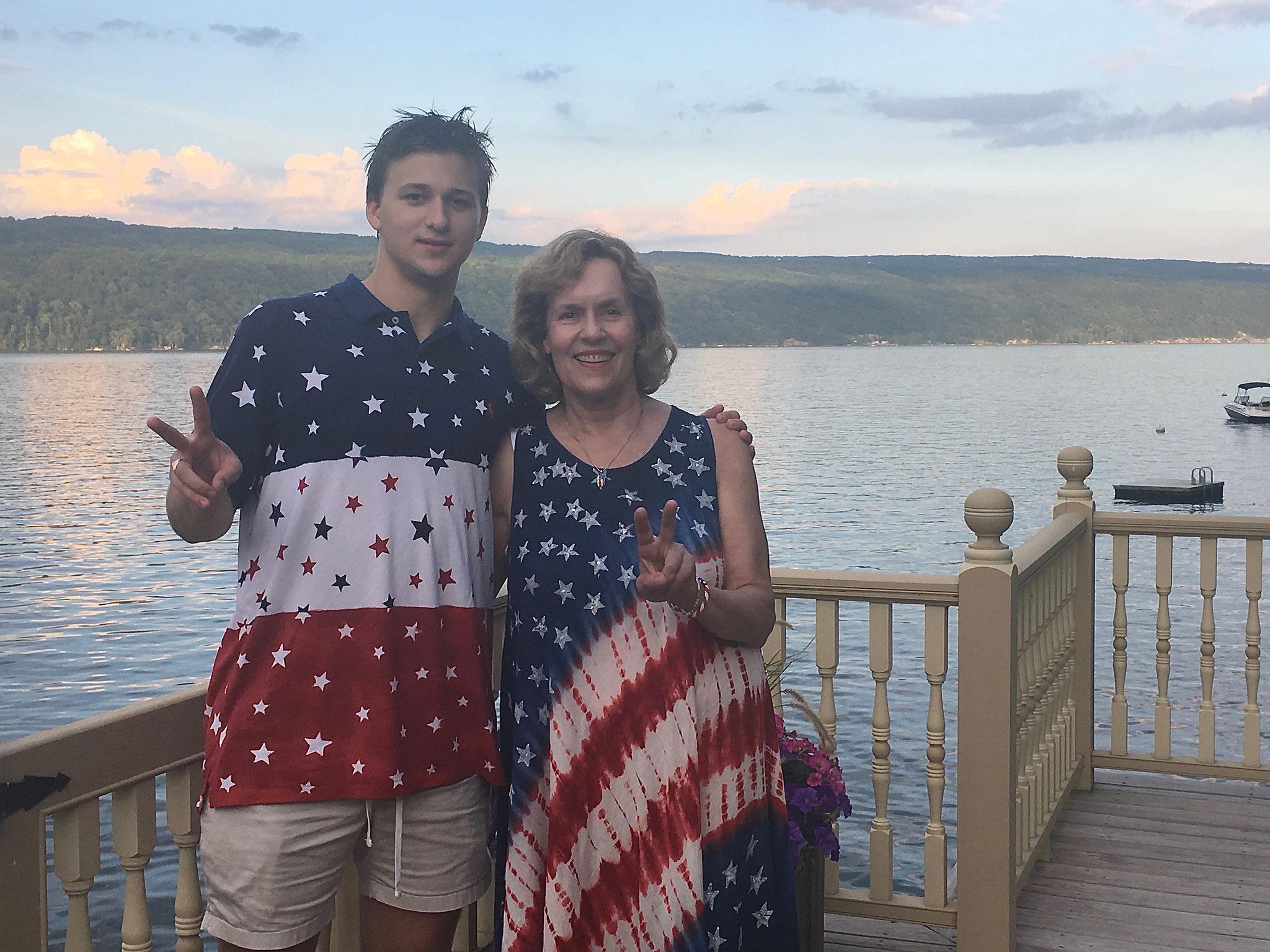 Jack & Lorraine, July 4th, 2019