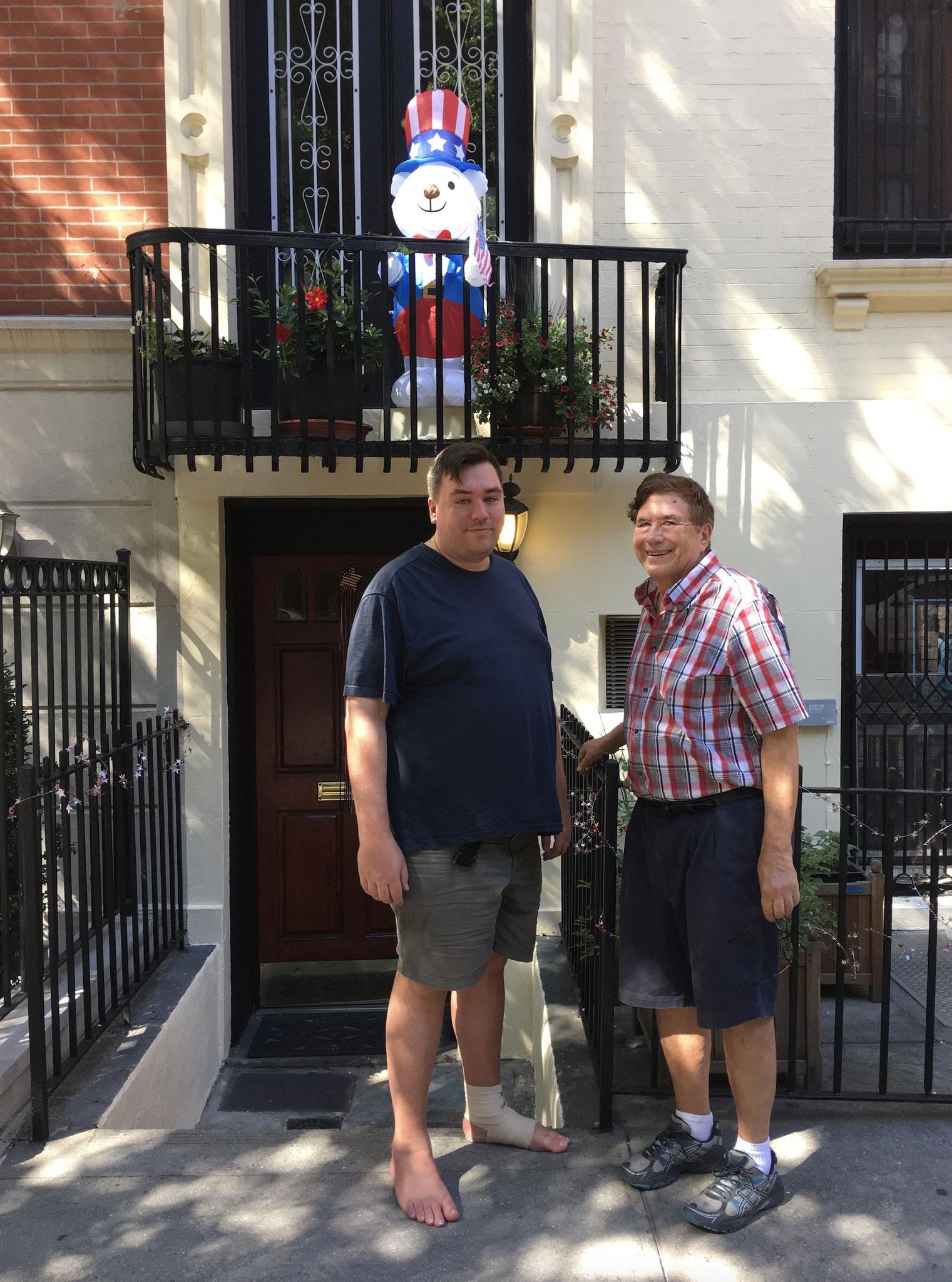 June, 2020 Greg & John