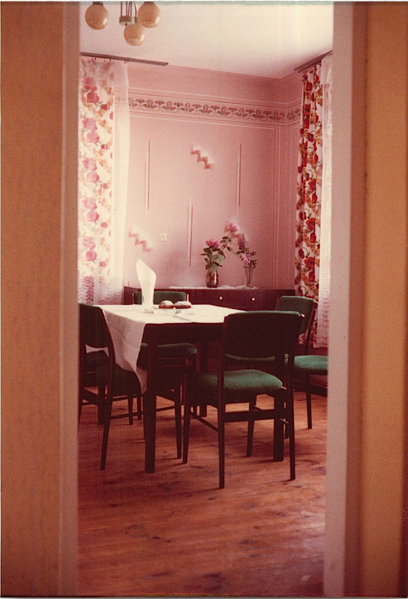 Jadwiga's dining room