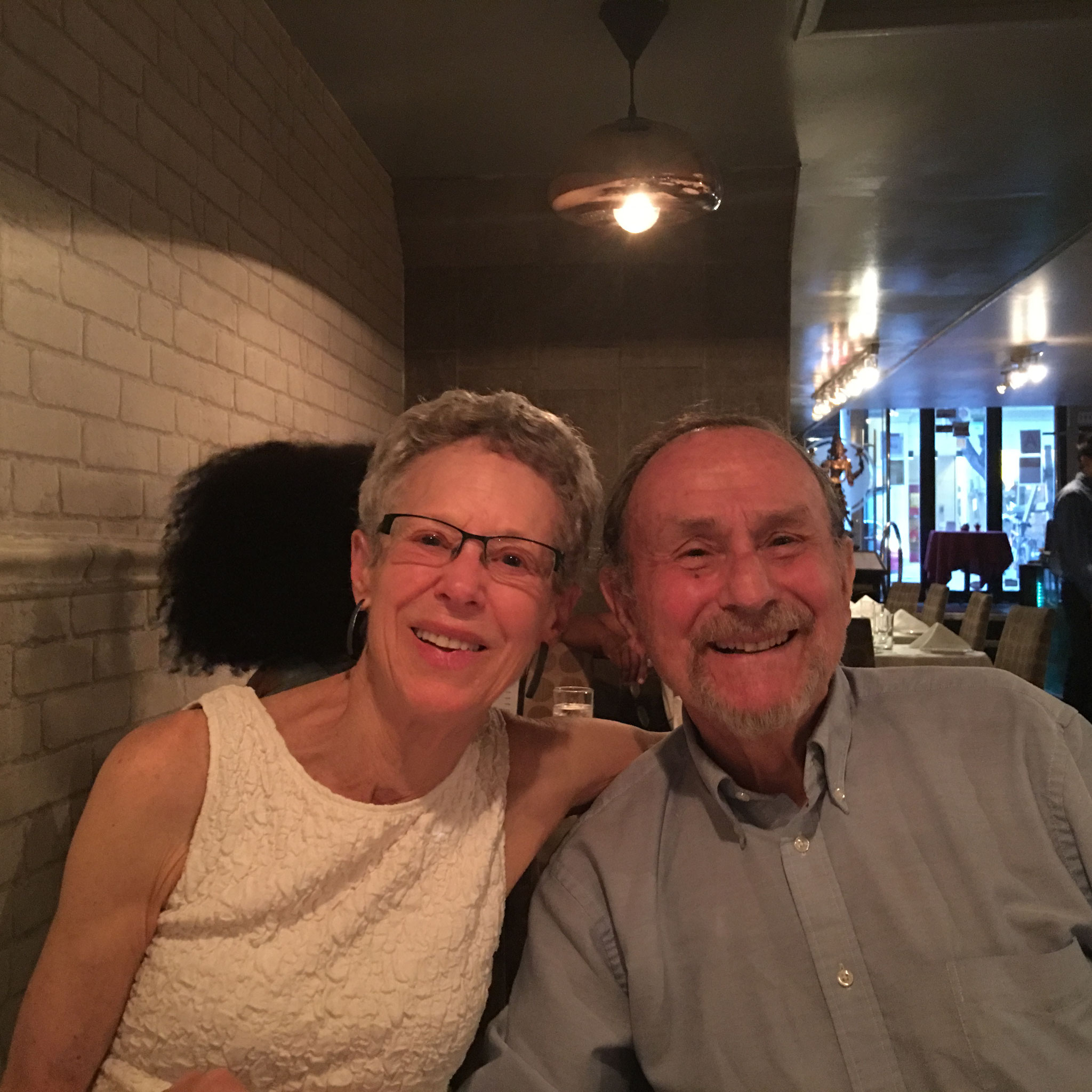 Barbara & Warren Levinson, NYC May 26, 2016