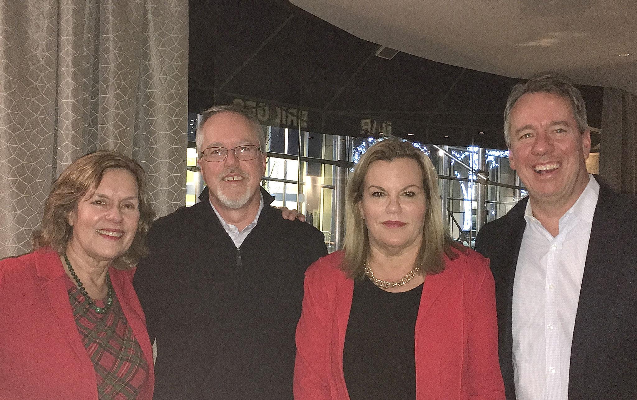 Lorraine, Jim, Celeste, Jon Boylan, Kathy's sons